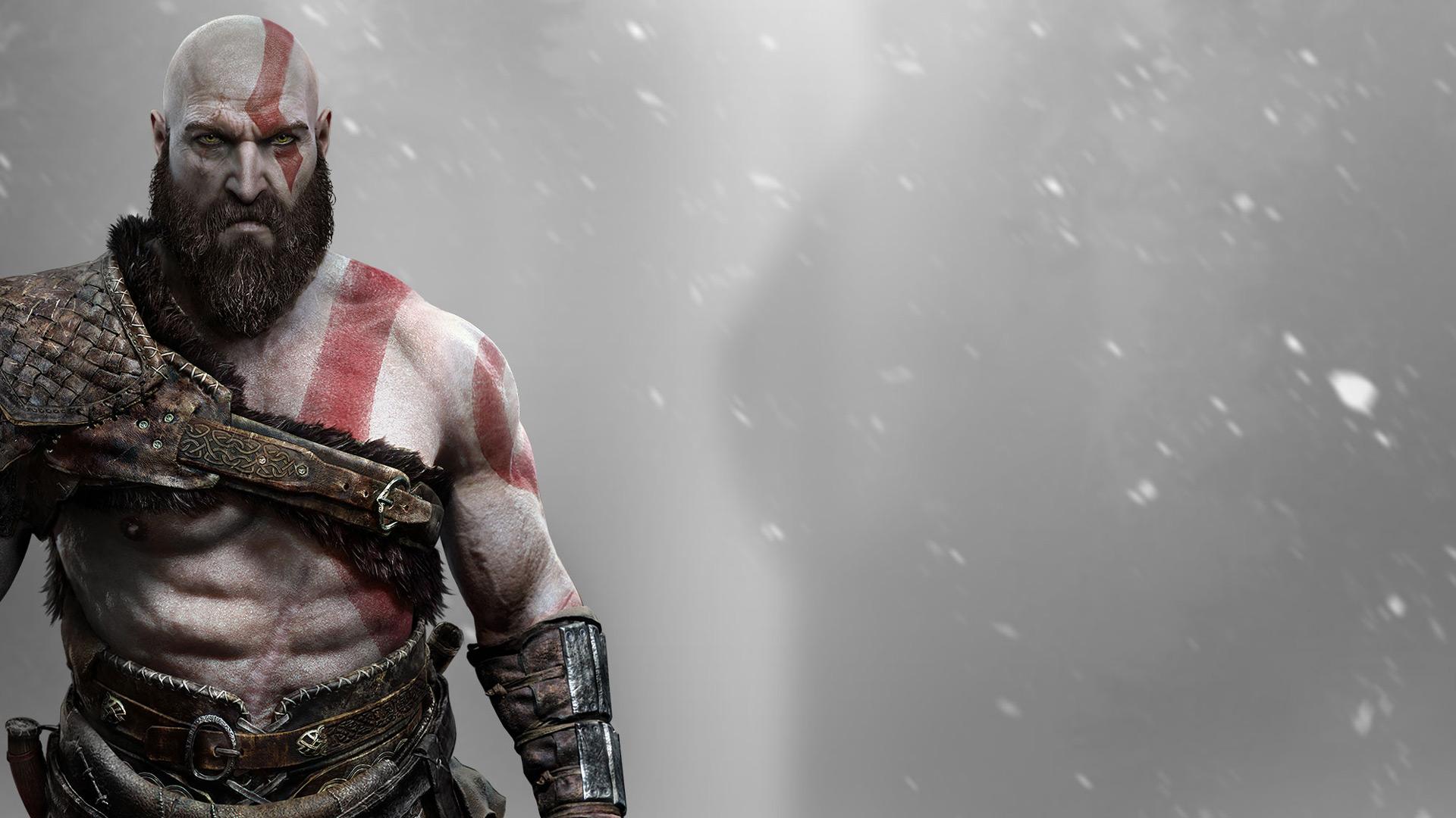 Kratos главный герой игры God of War Обои для рабочего стола 1280x1024