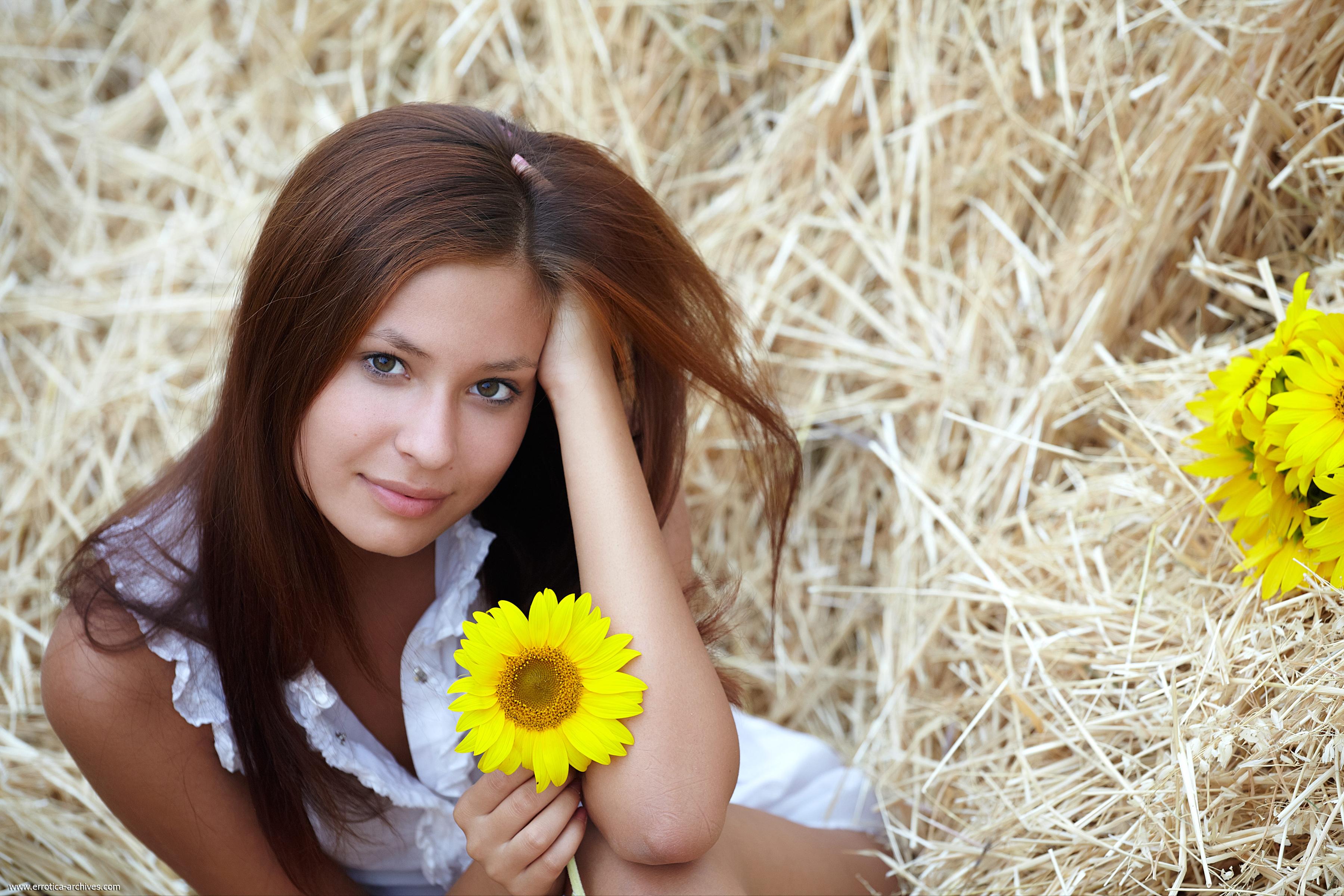 Фото в деревне для девушек