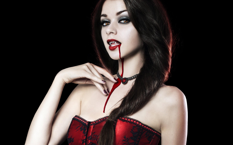 Фото девушек вампиров на аву красивые