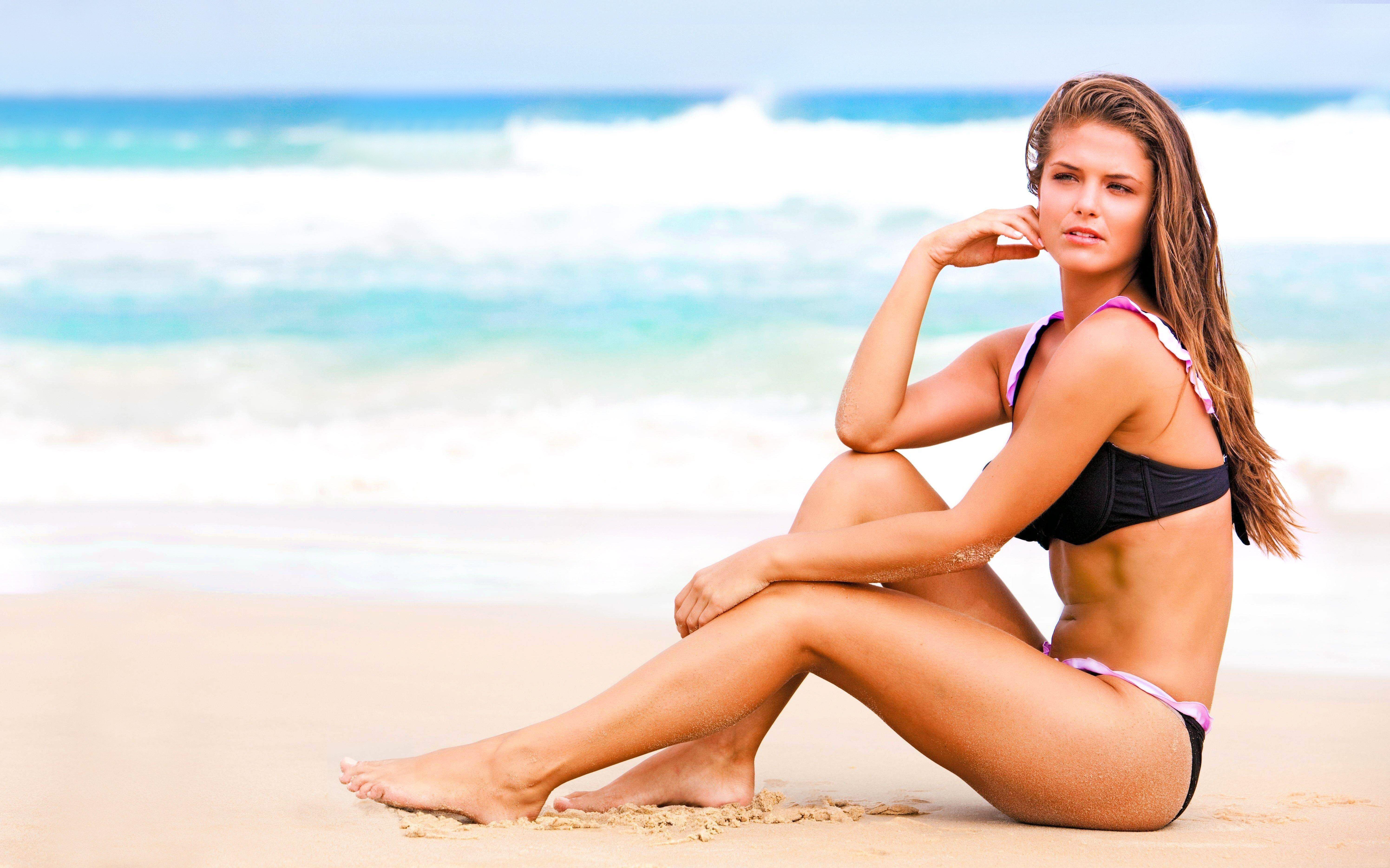 Картинки девушек в на пляже