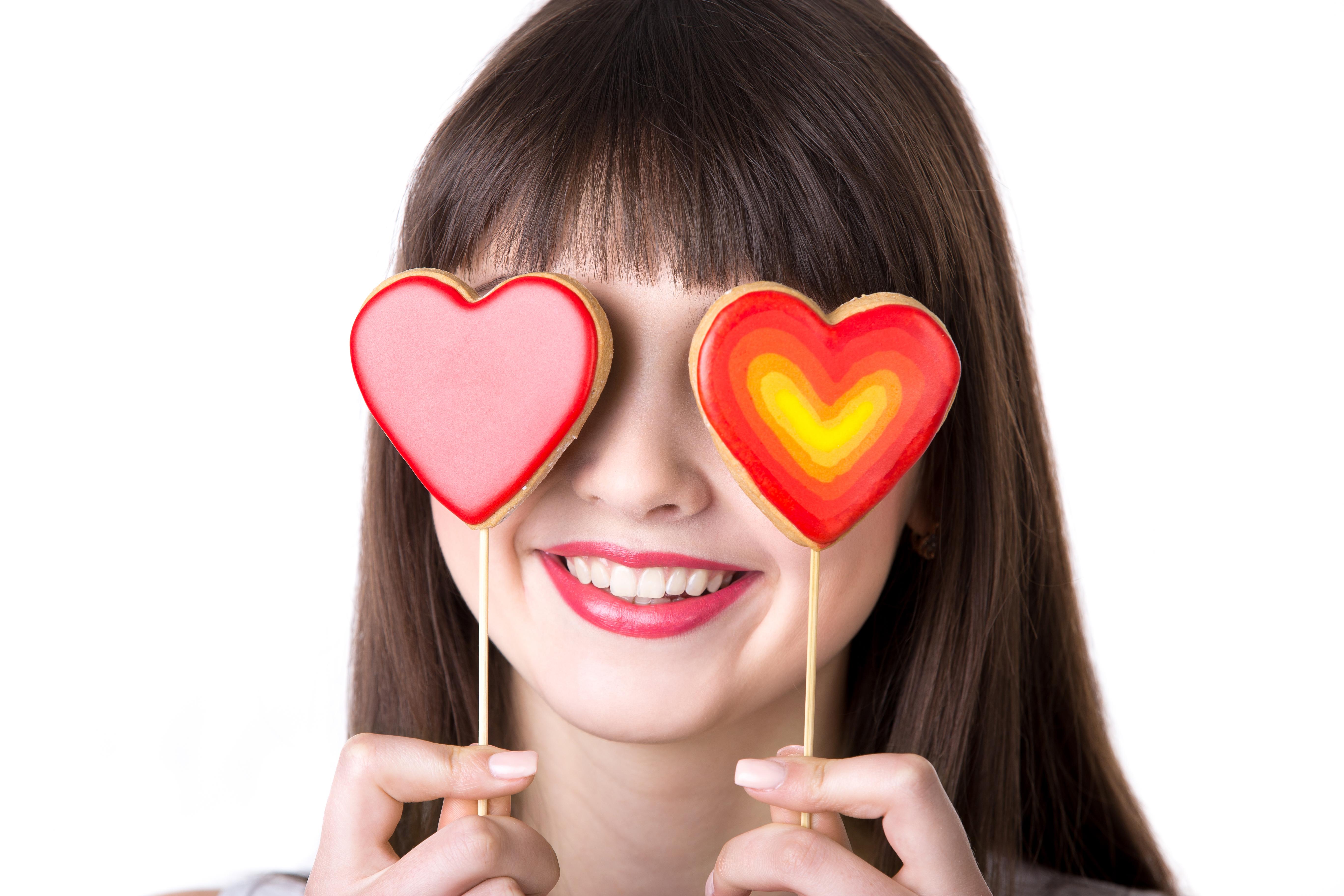 Картинки с сердечками в глазах