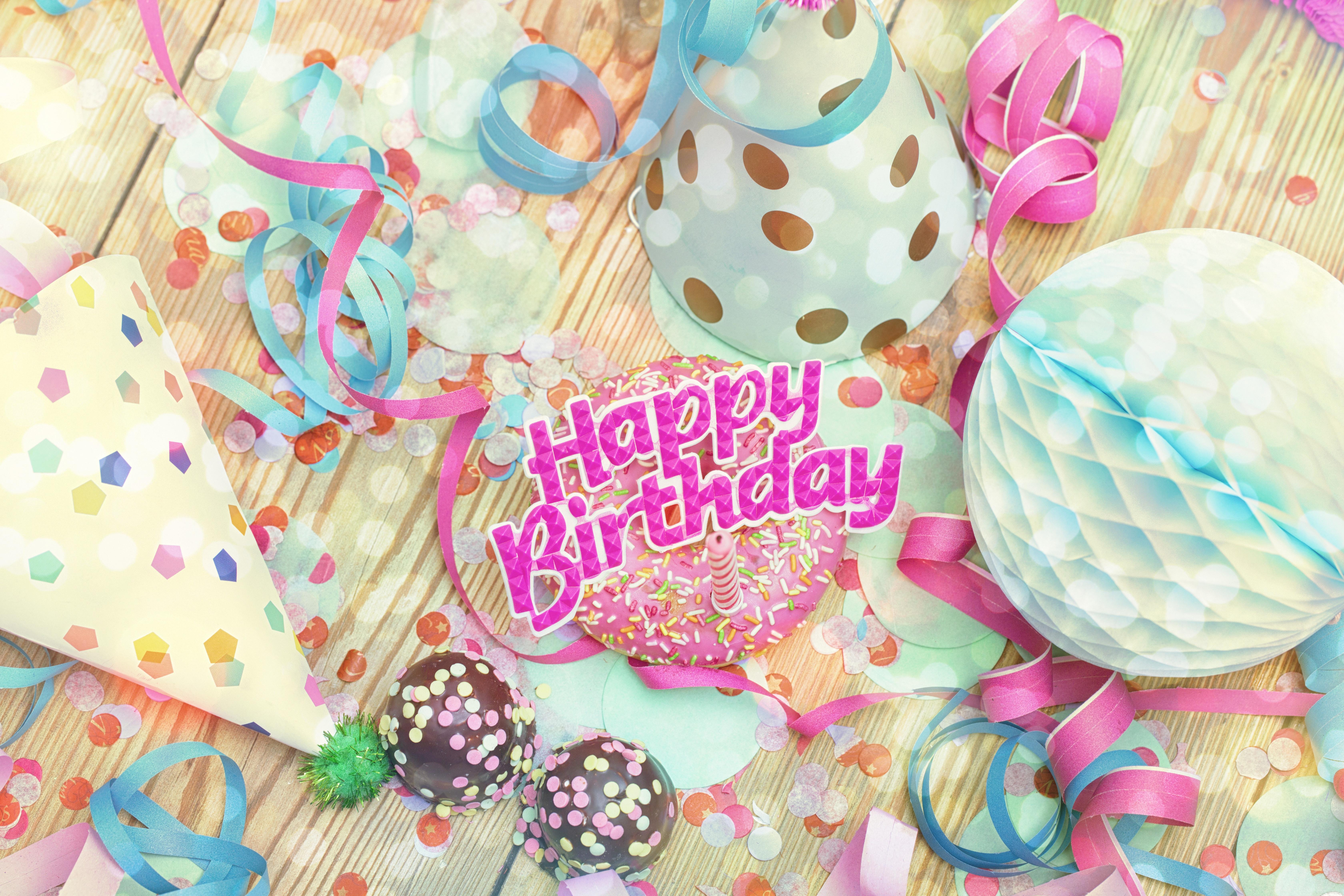 Праздничные картинки открытки на день рождения
