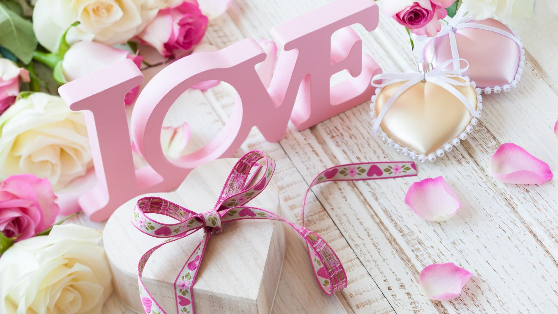 Обои для рабочего стола нежность любовь
