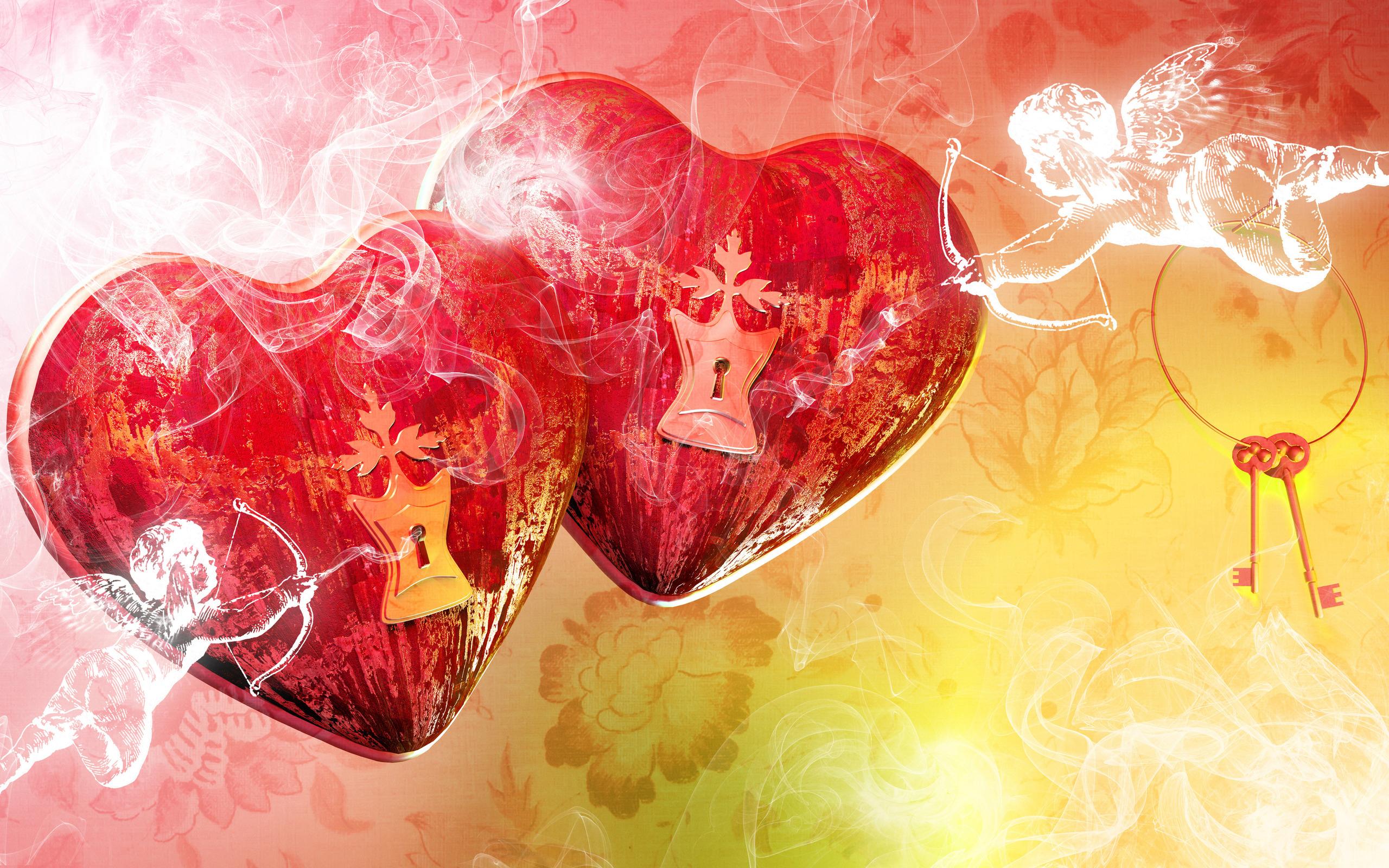 Яркие картинки с надписями о любви