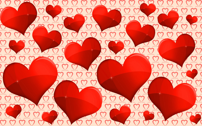 красные сердечки картинки красивые шаблоны крупнее