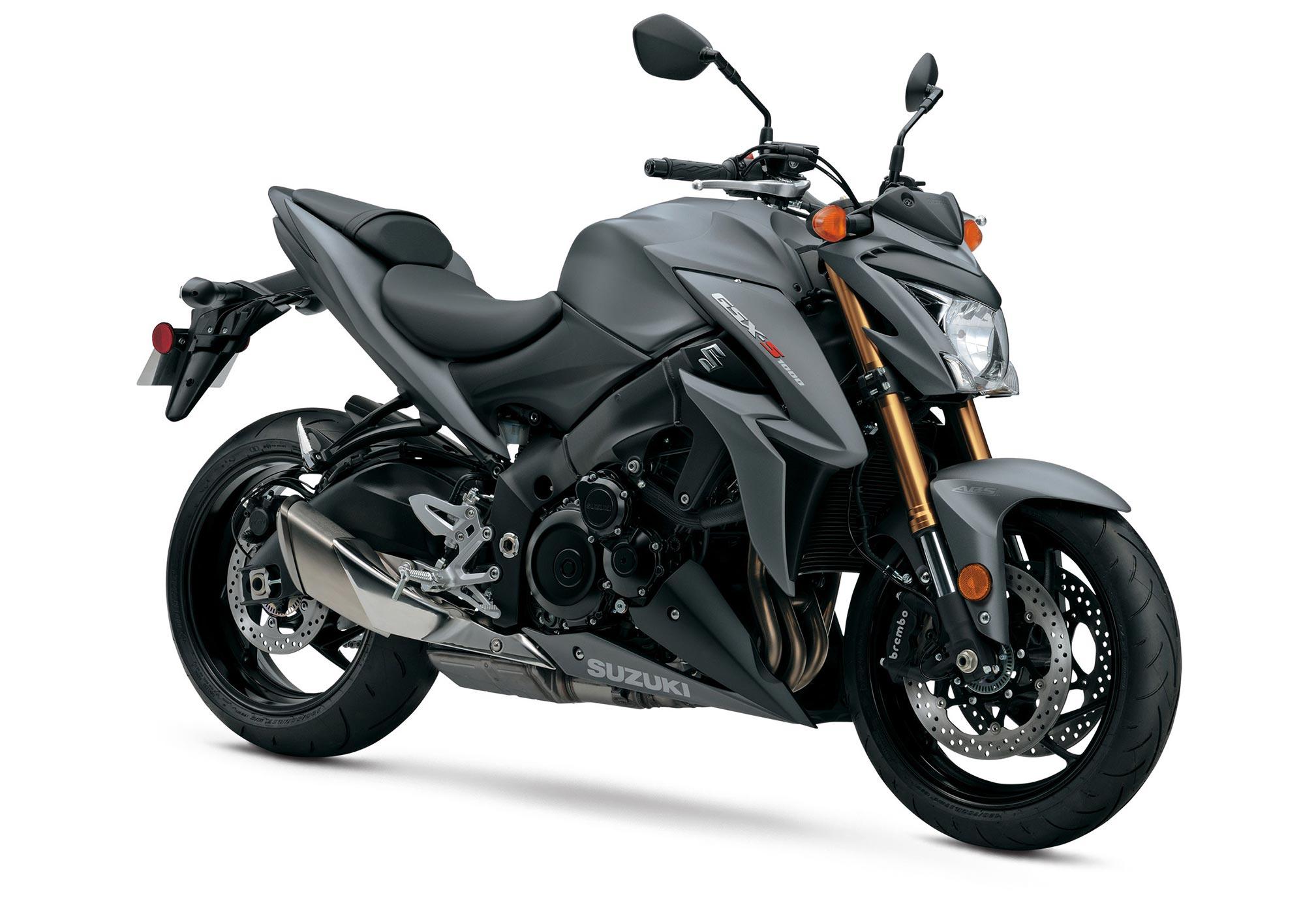 Stylish Bike Suzuki Gsx S1000 On A White Background Wallpapers And