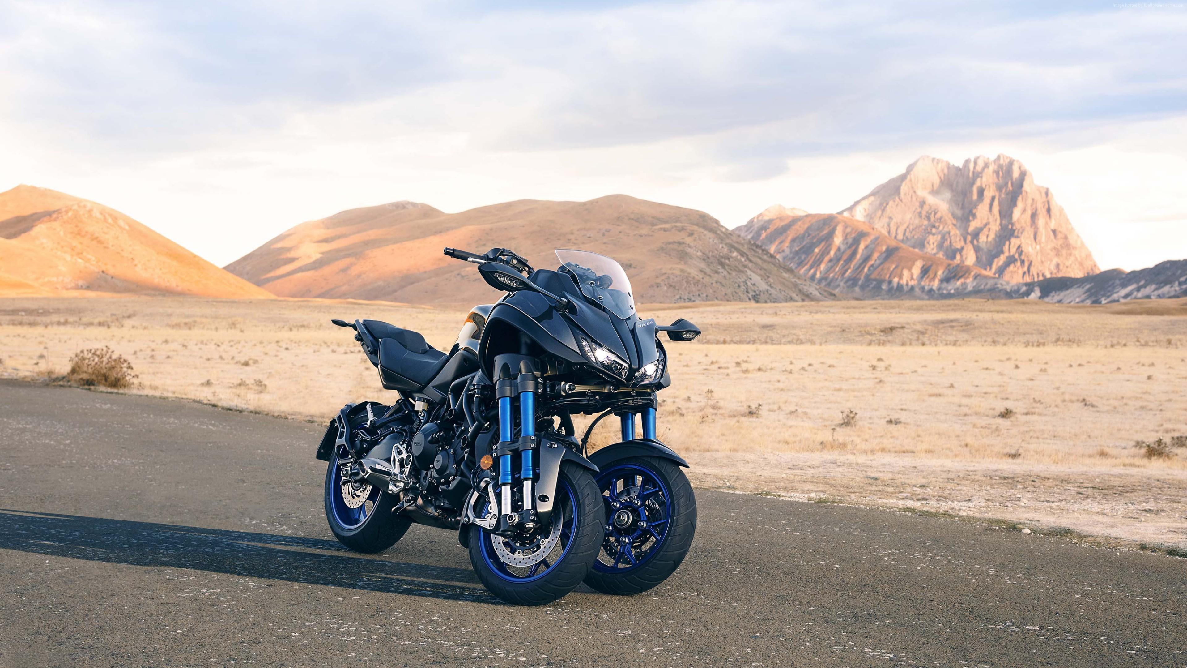 yamaha niken review threewheeled motorcycle - HD3840×2160