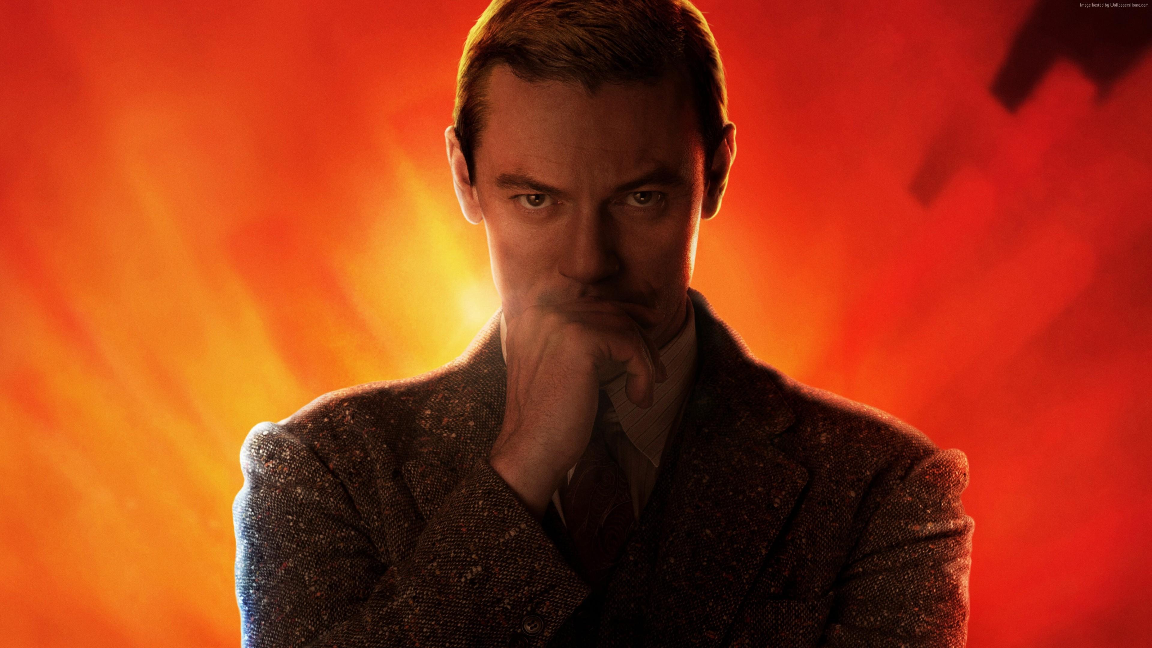 Actor Luc Evans In The Film Professor Marston And Wonder