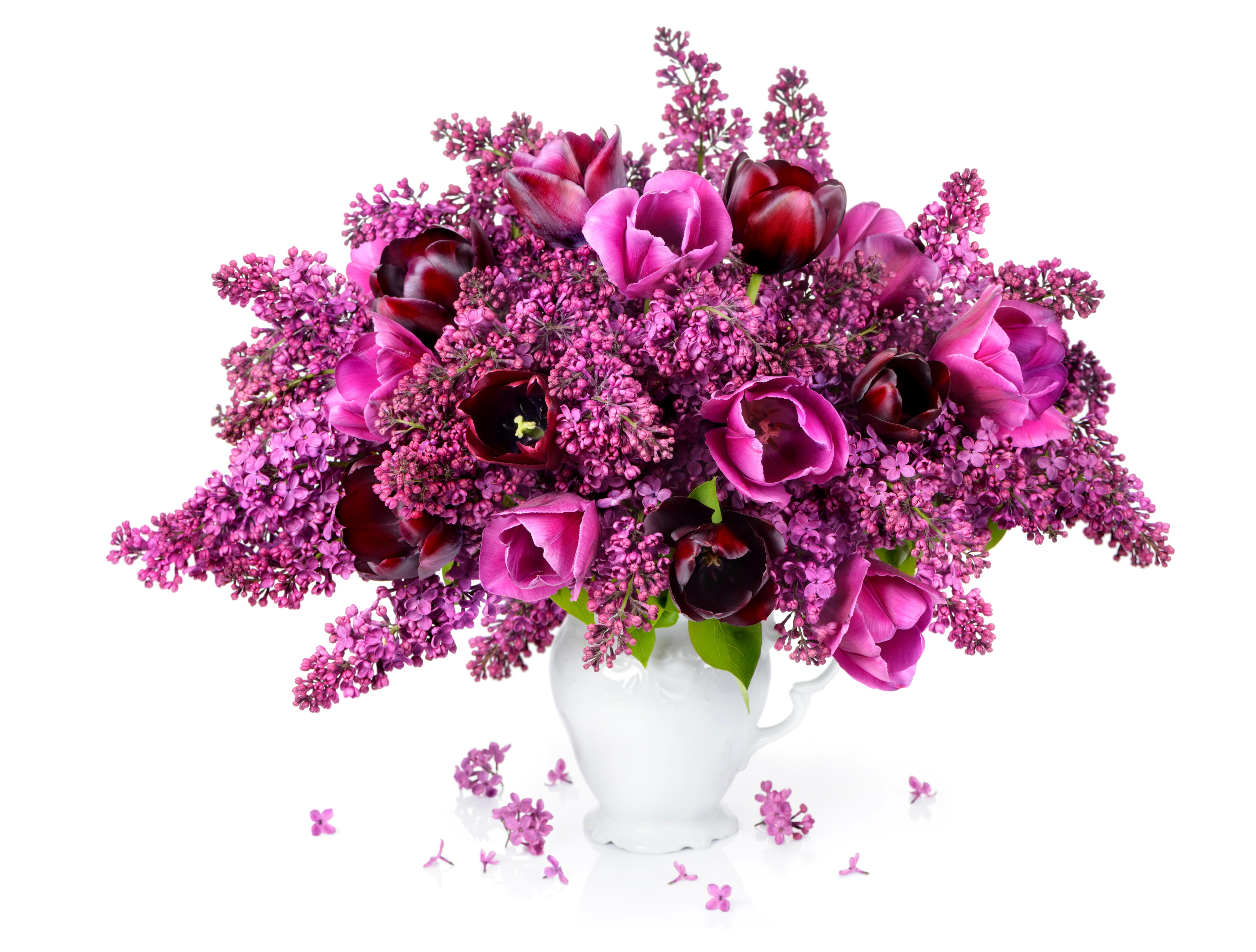 Картинки яркий букет тюльпанов получить то