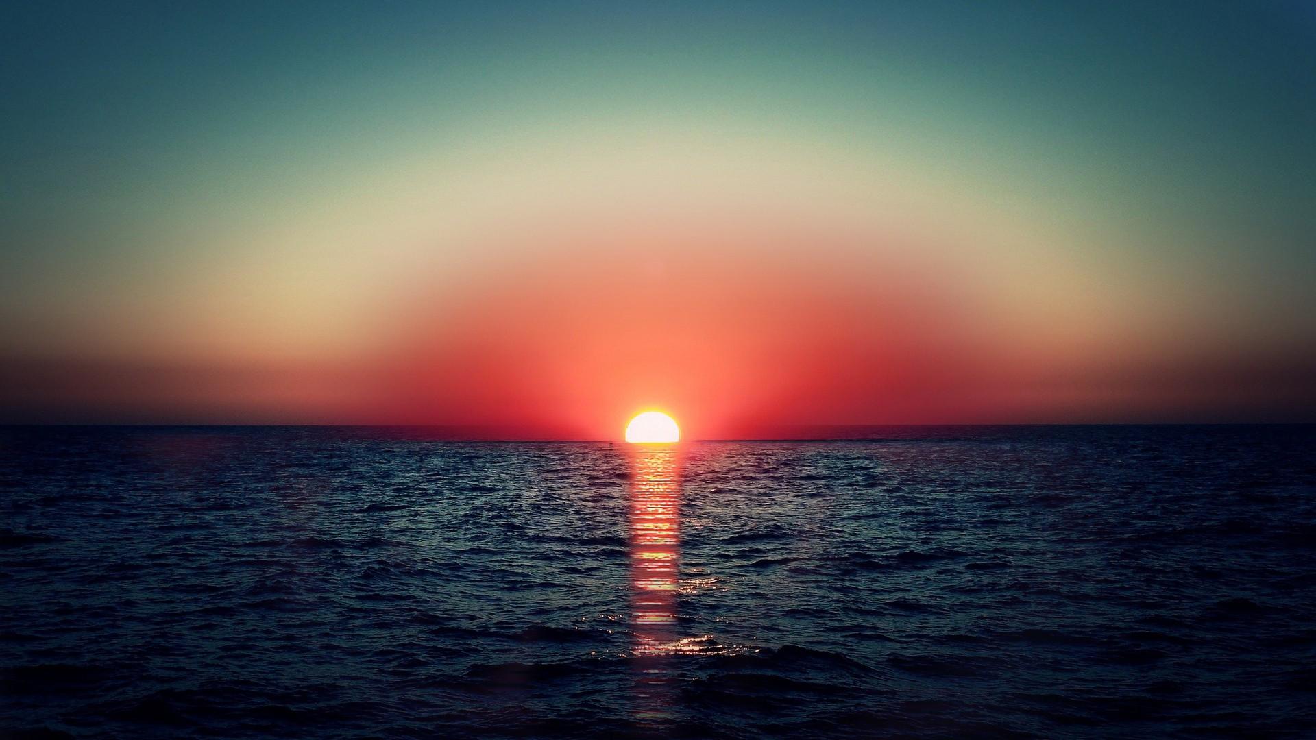 Картинки красного солнце