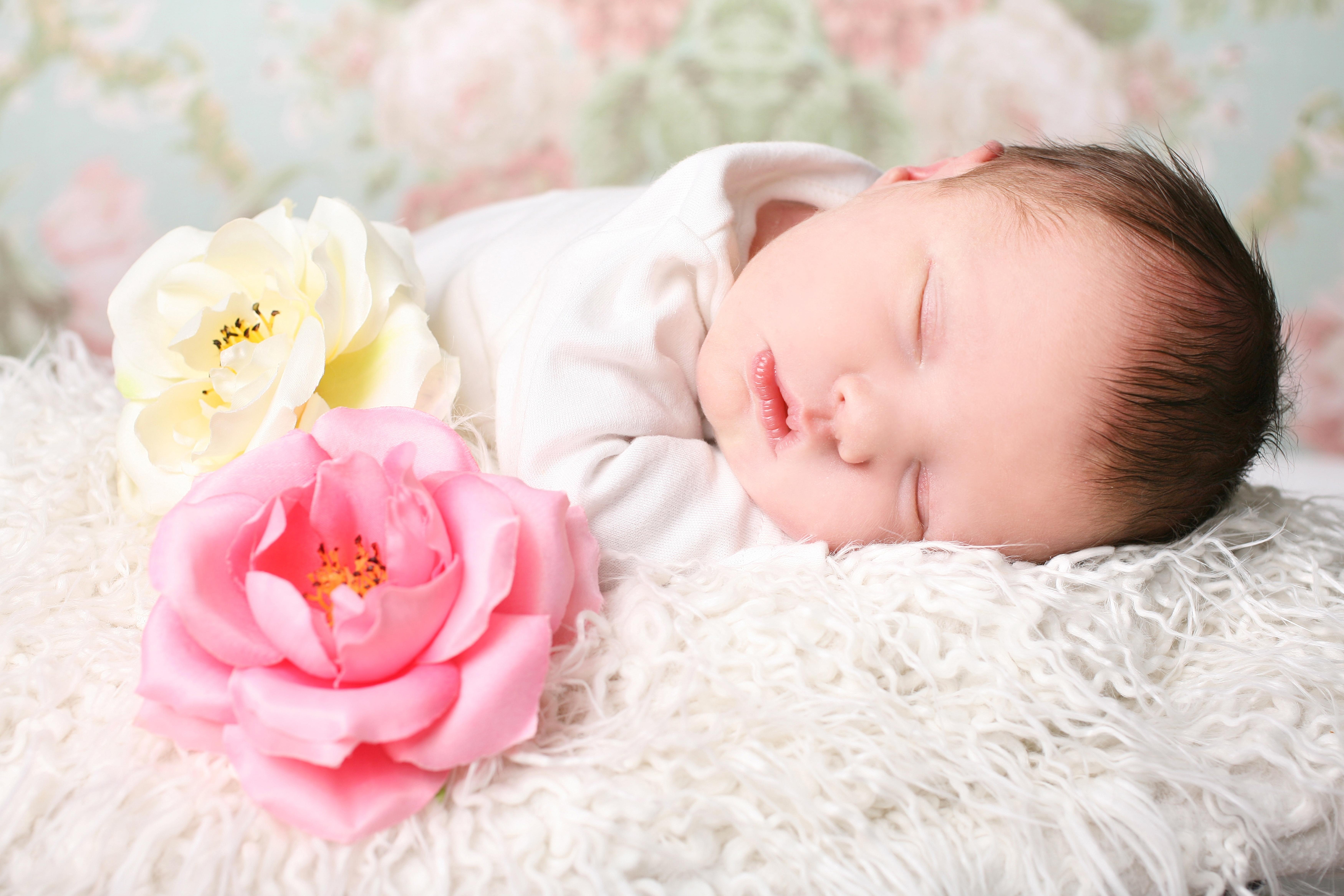 Картинки новорожденного ребенка девочки, новым годом