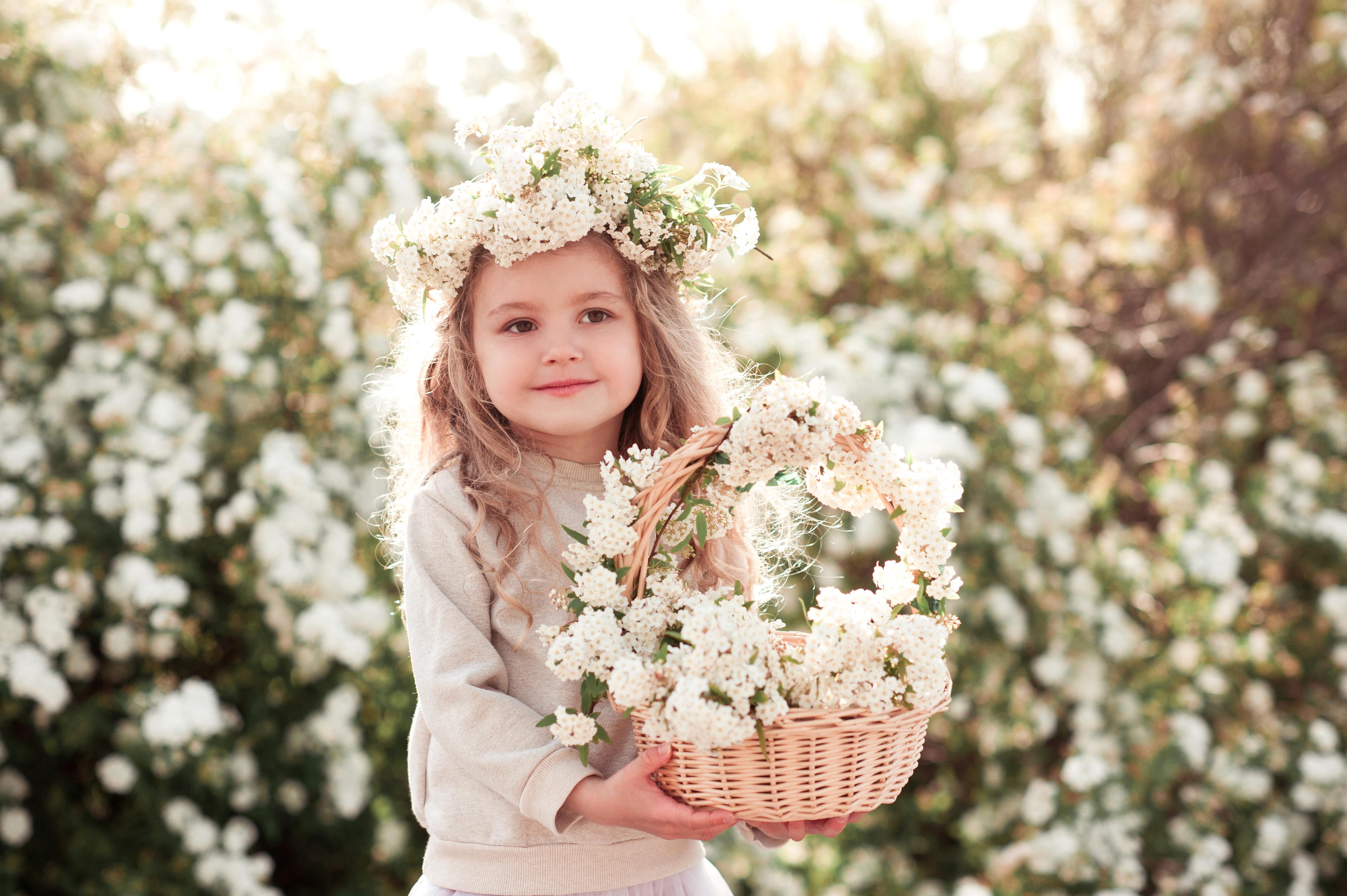 быстро малыши с цветочками картинки это время