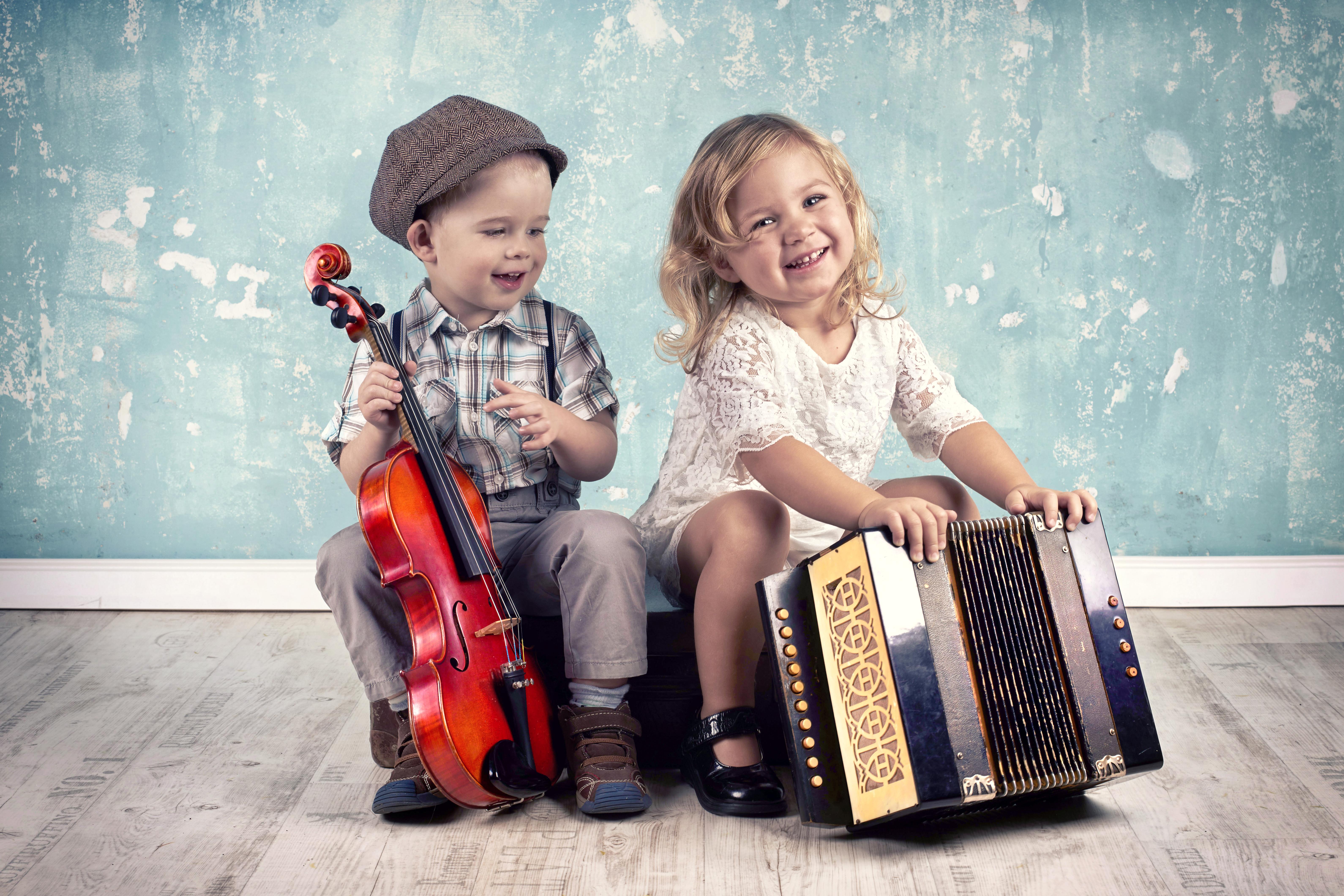 Картинки с музыкой для детей