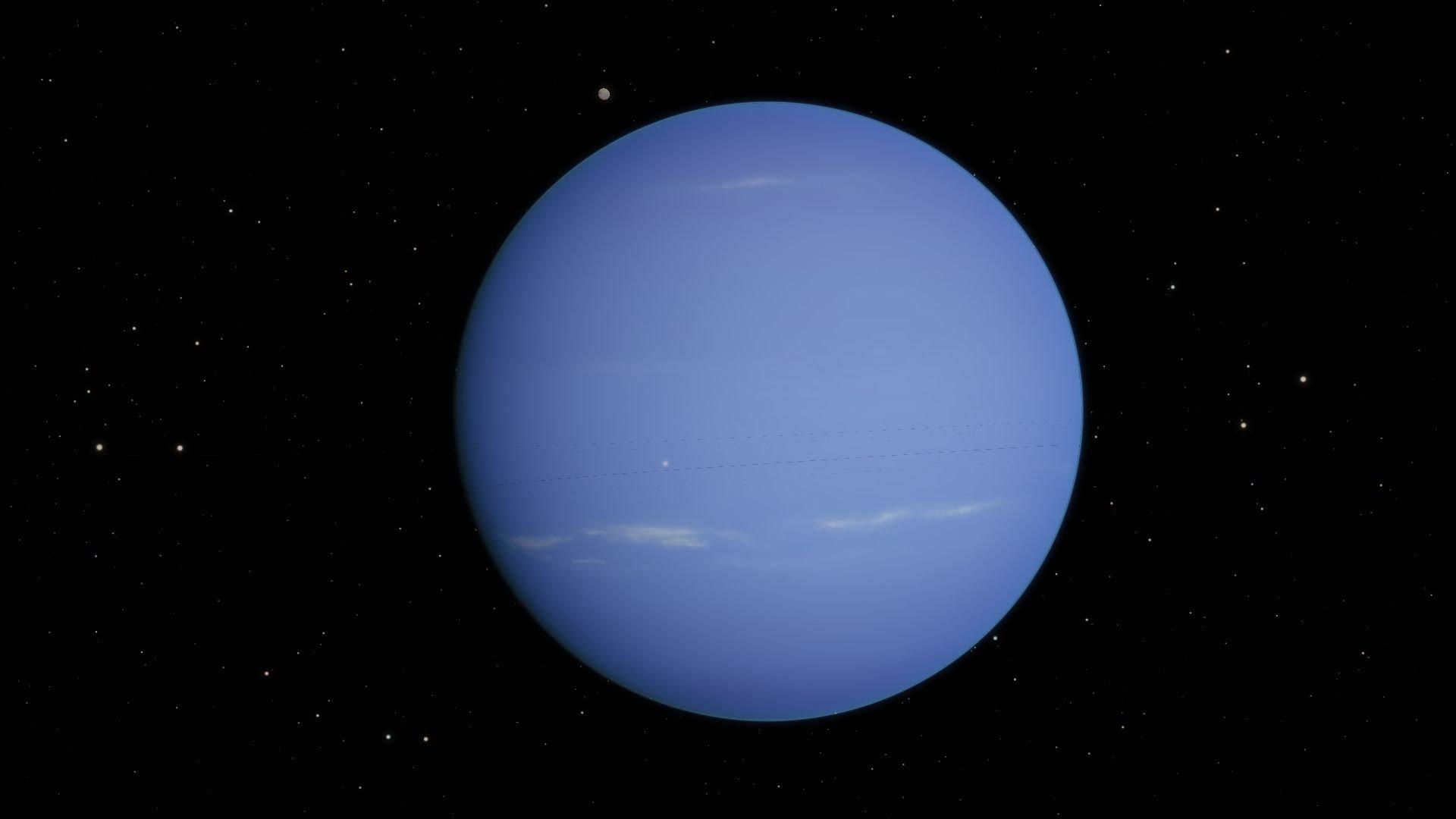 Планета нептун обои для рабочего стола