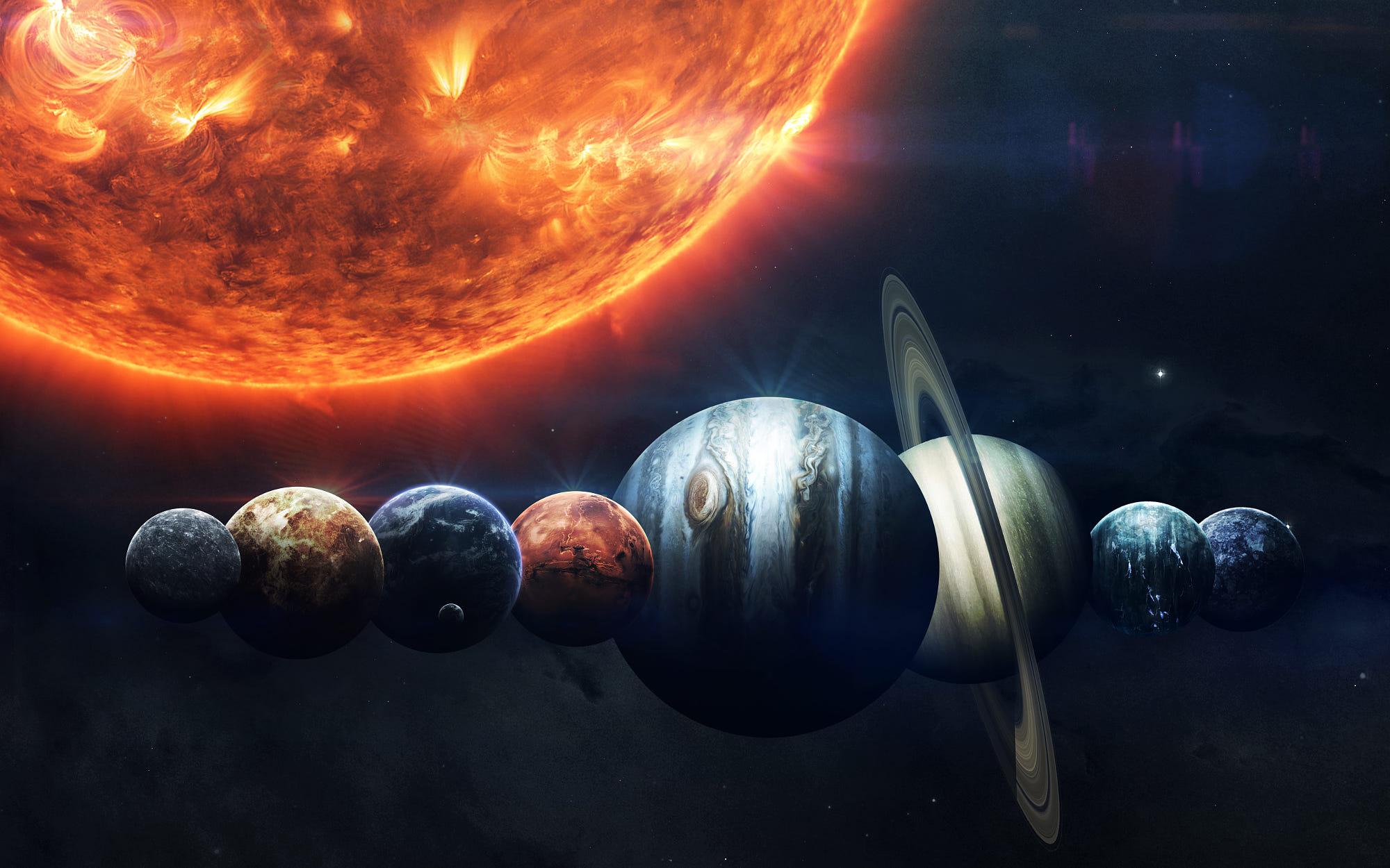 картинки на рабочий стол планеты солнечной системы выслушав
