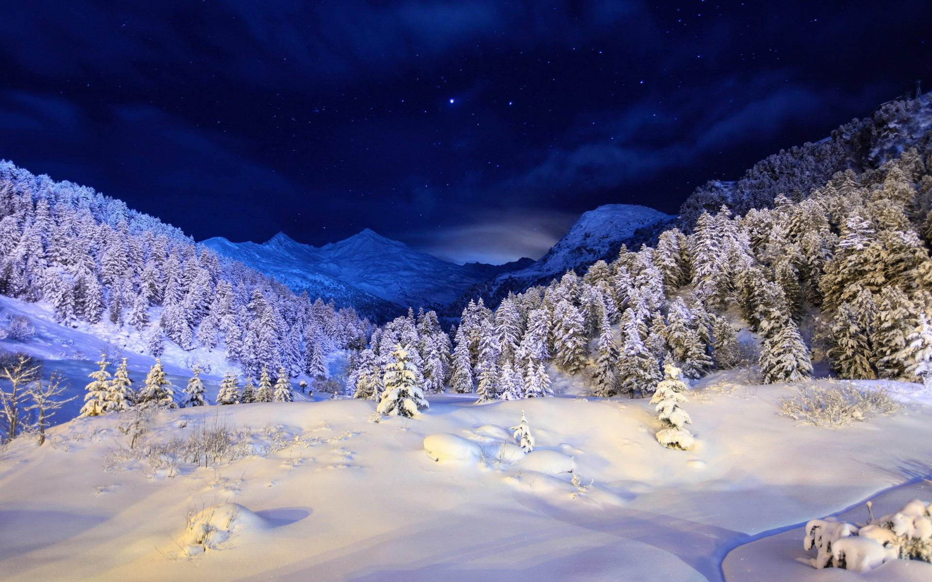 Картинка зима обои