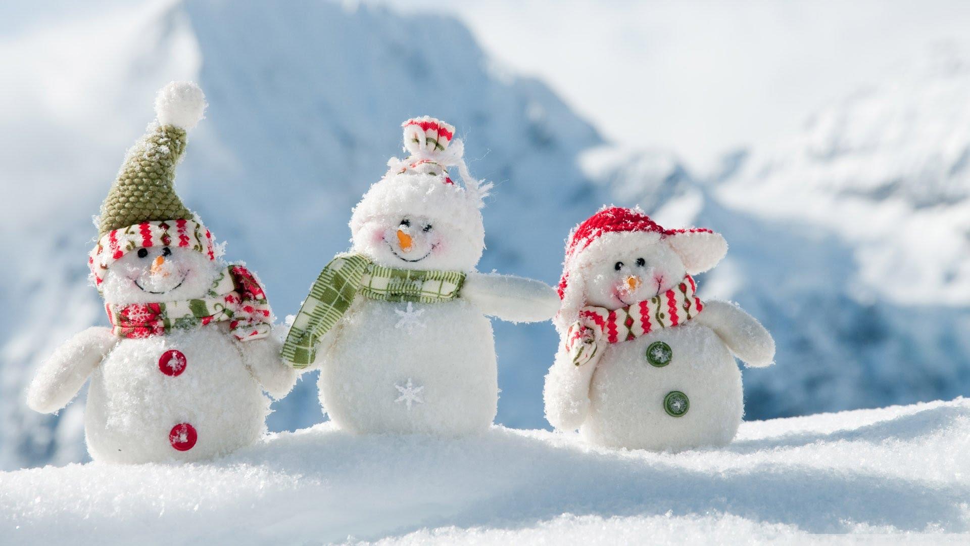 Установить картинки на рабочий стол зима