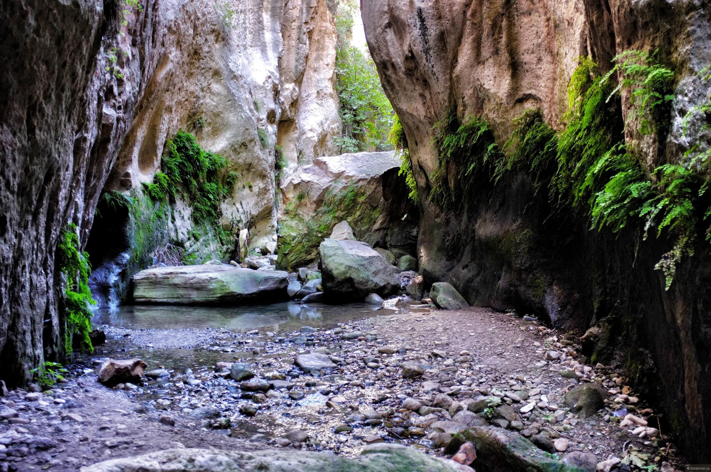 Красивое ущелье Авакас, Кипр - обои для рабочего стола ...