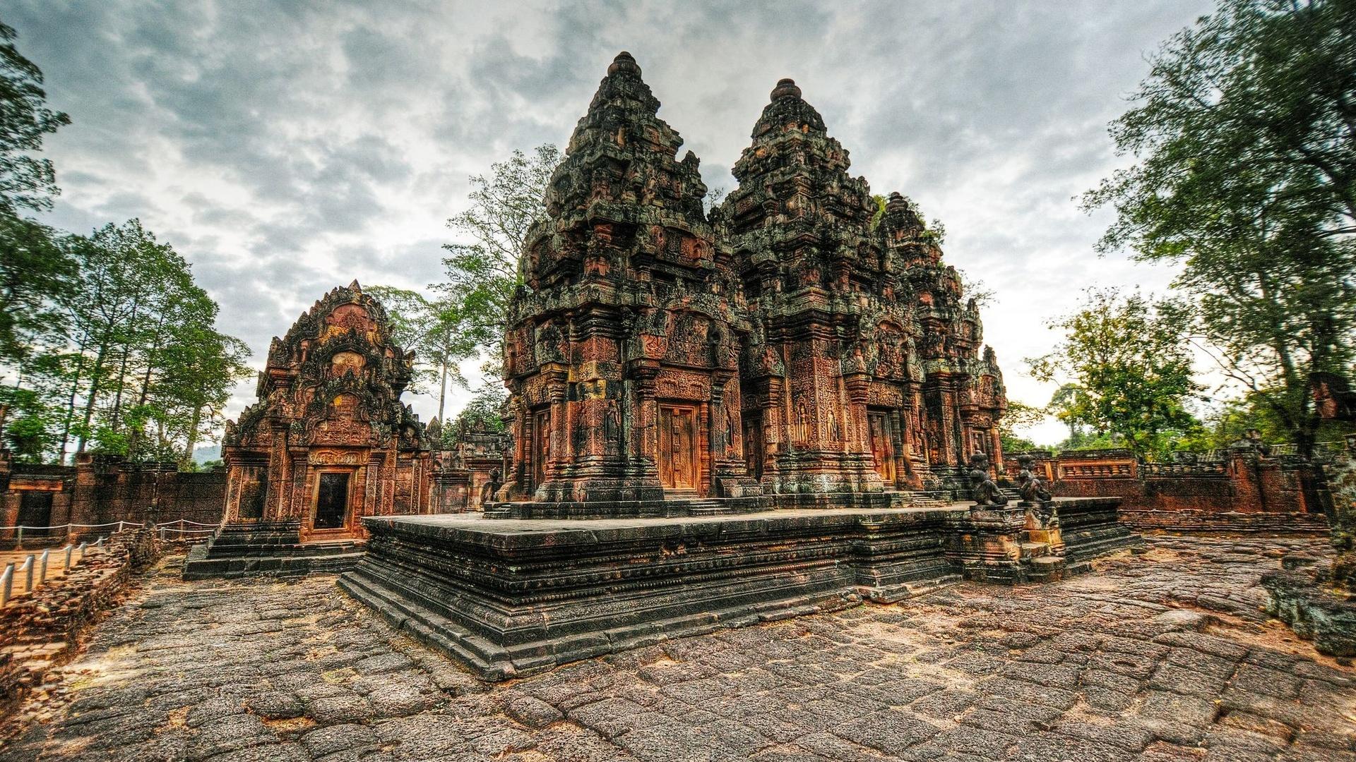 Храмы ангкора с картинками