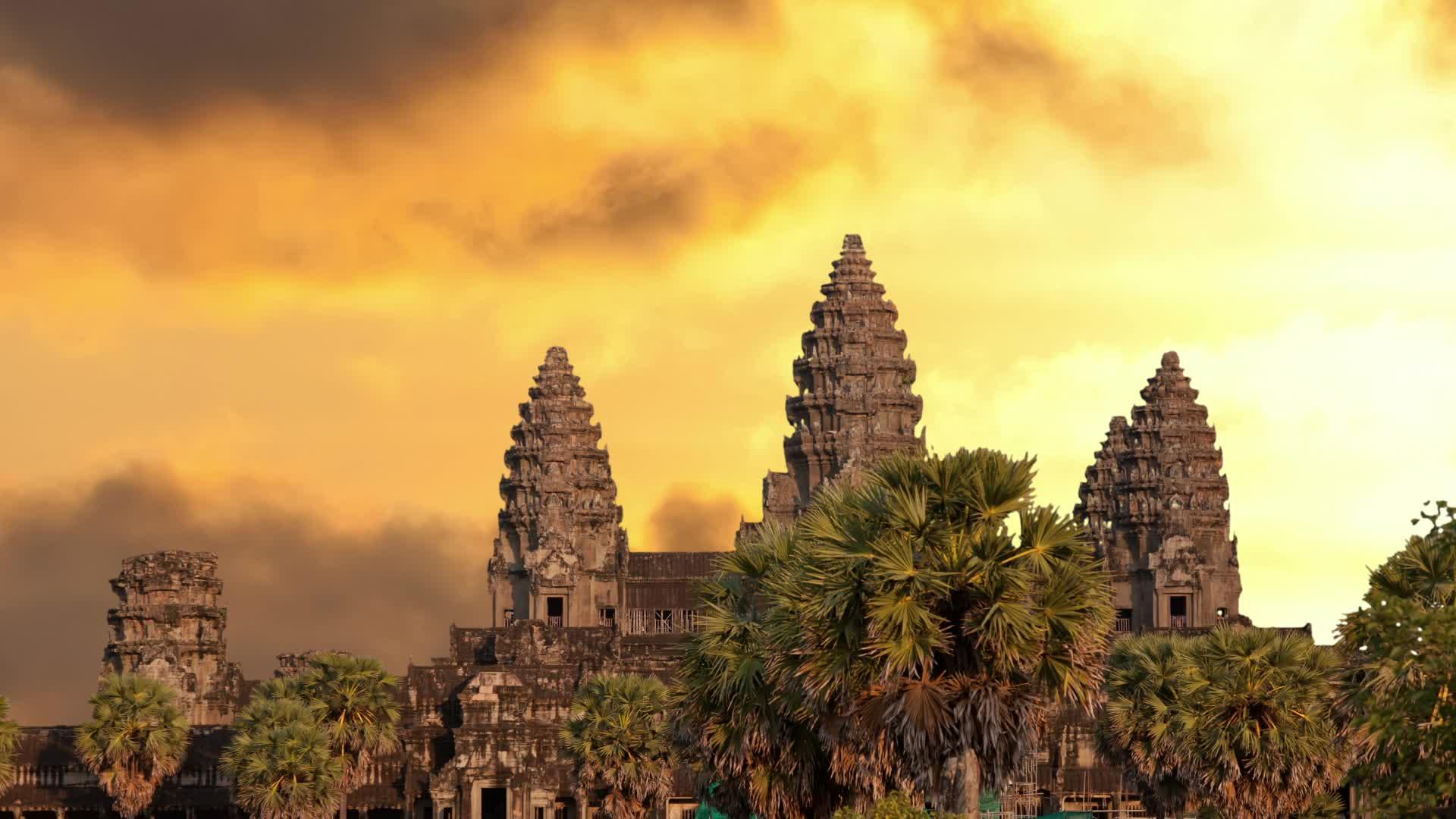 Angkor Wat Cambodia 4K HD Desktop Wallpaper for 4K Ultra