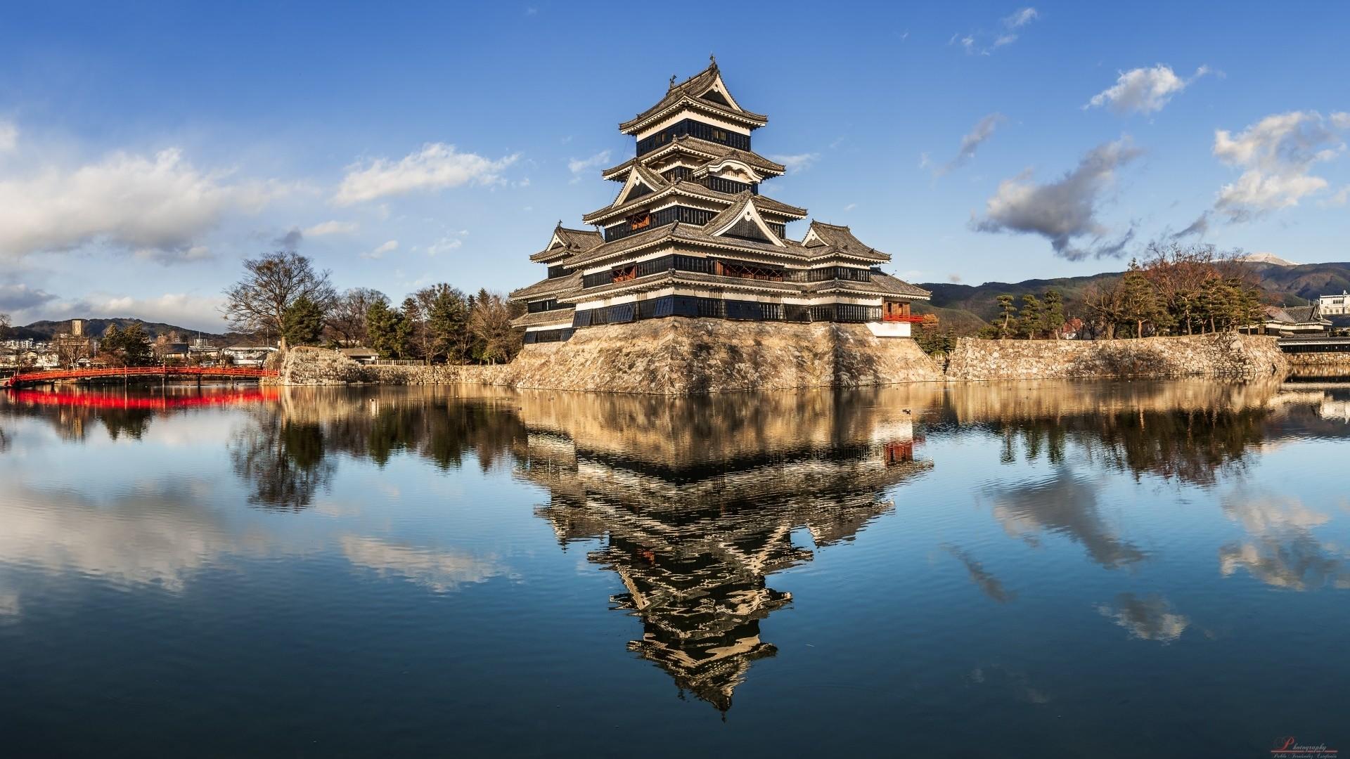героиня, японский замок картинка как вполне