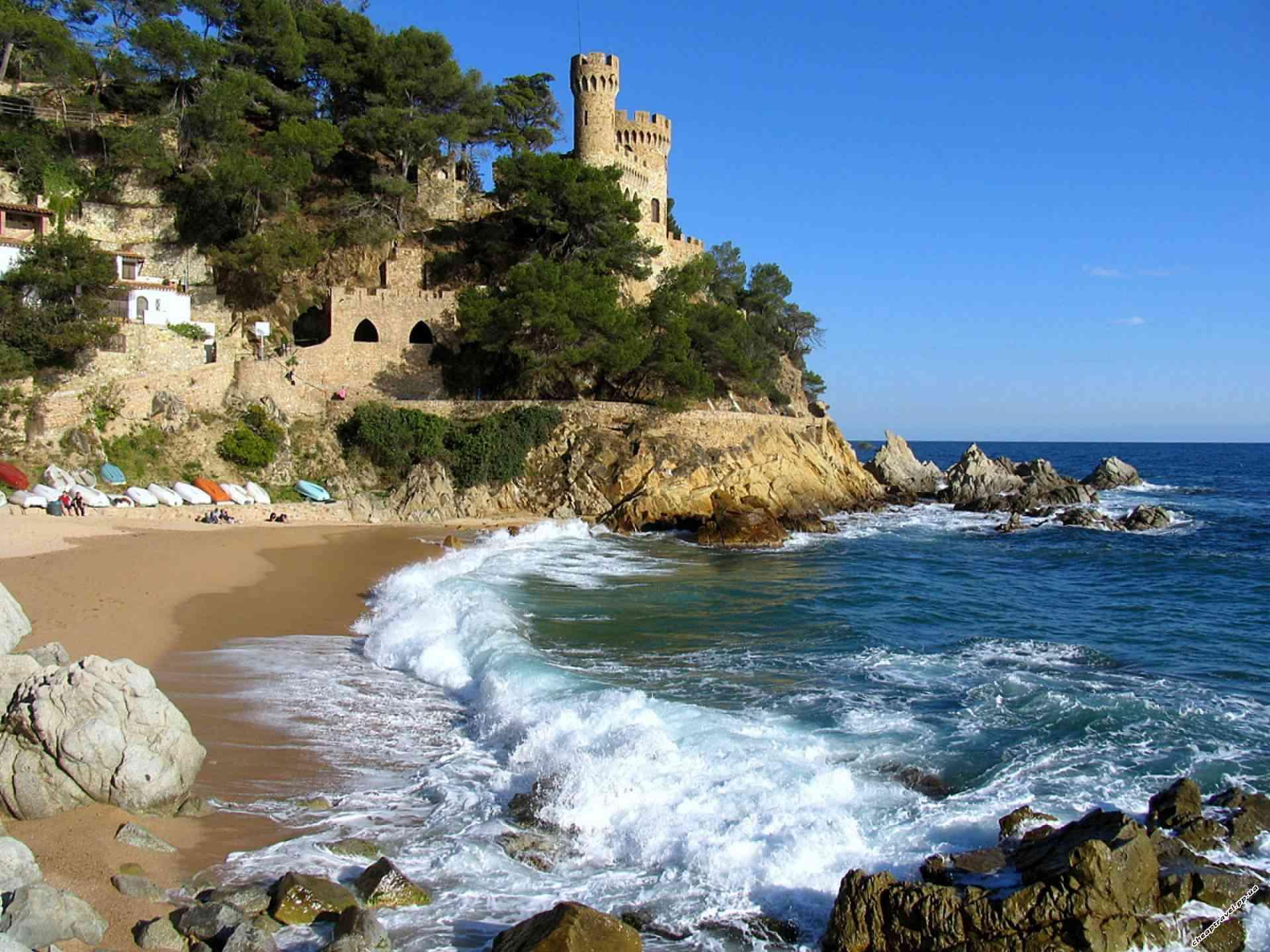 пляжи европы картинки работа