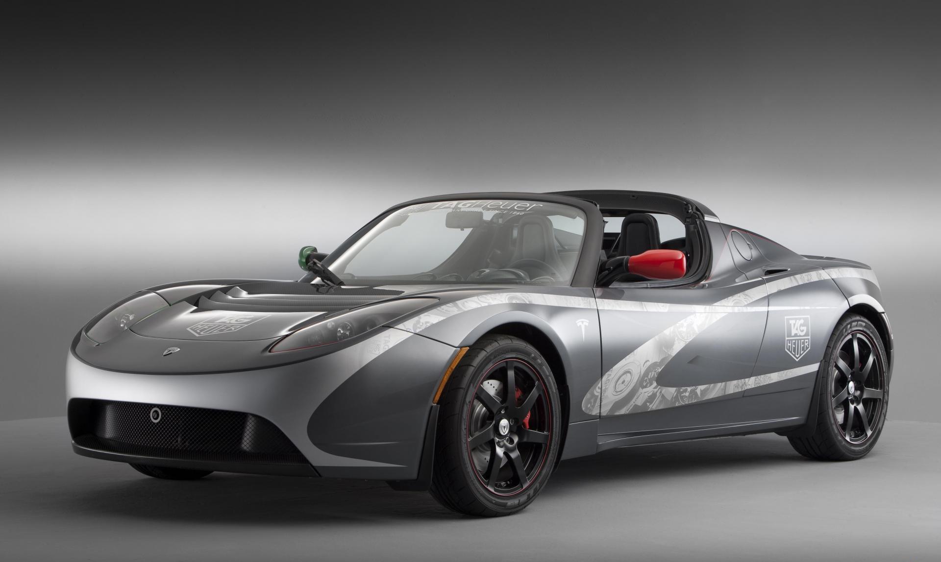 Tesla Electric Car Motors