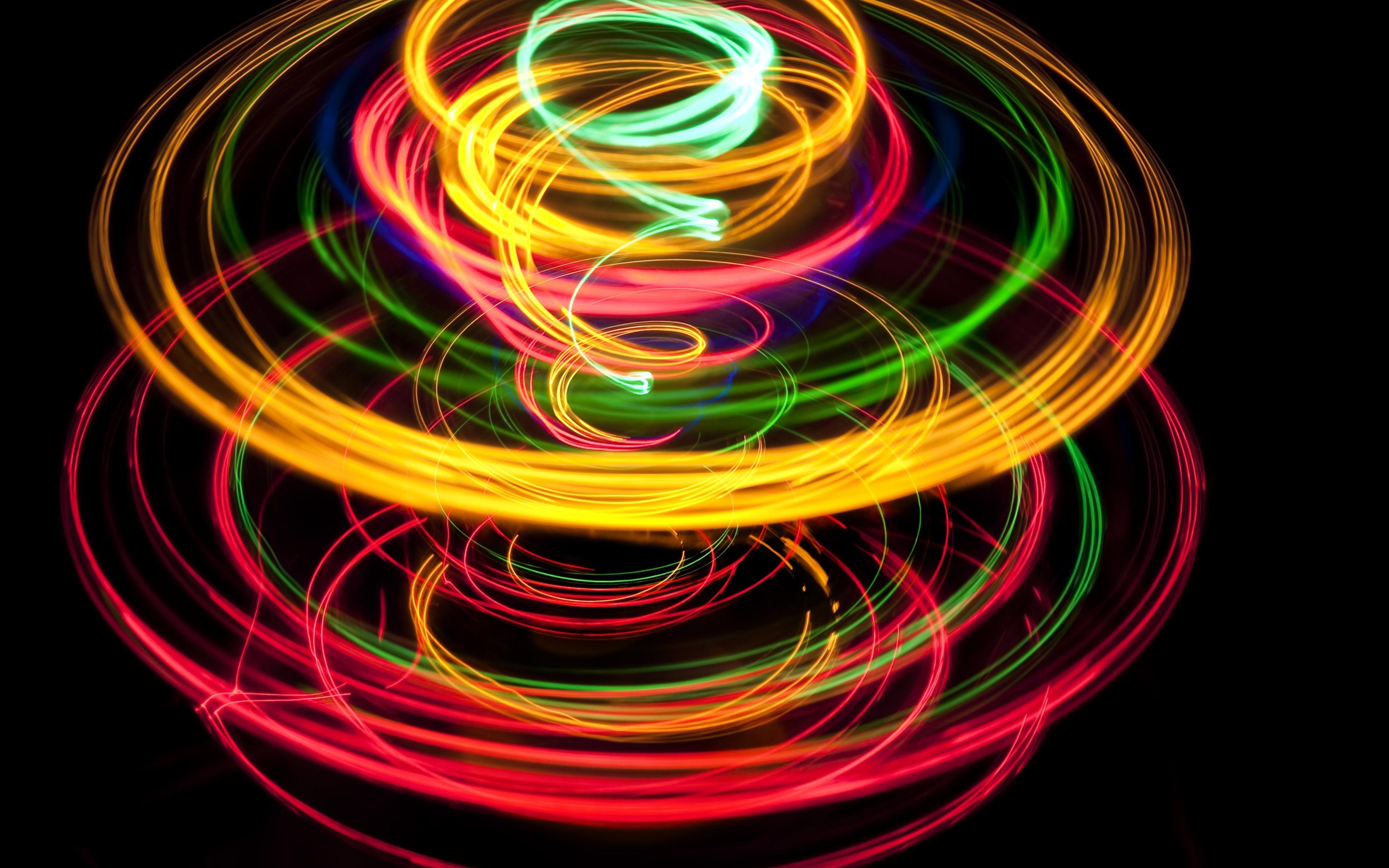 фото цветной абстракции без фона каждым днем число