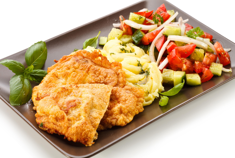 Картинка вкусный обед с мясом