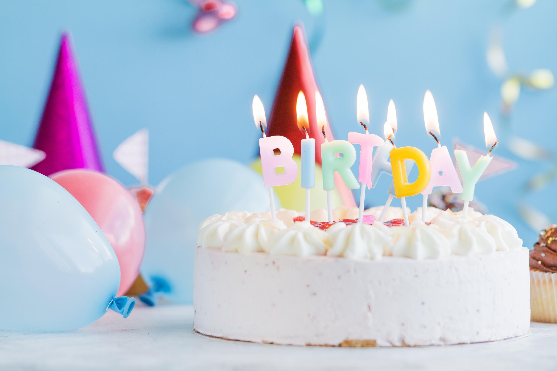 Картинки с тортом со свечами