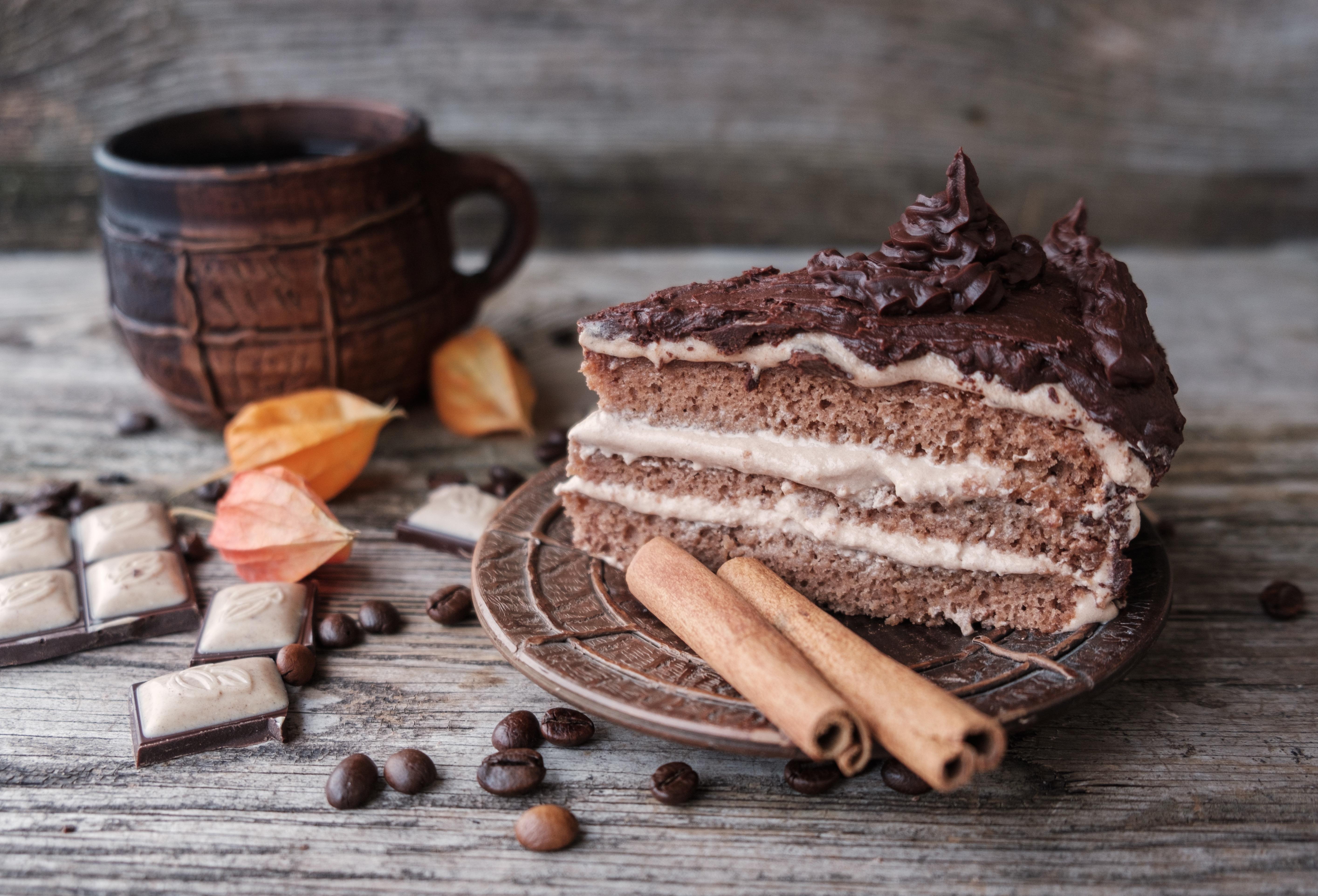 чай и кусочек торта картинки это