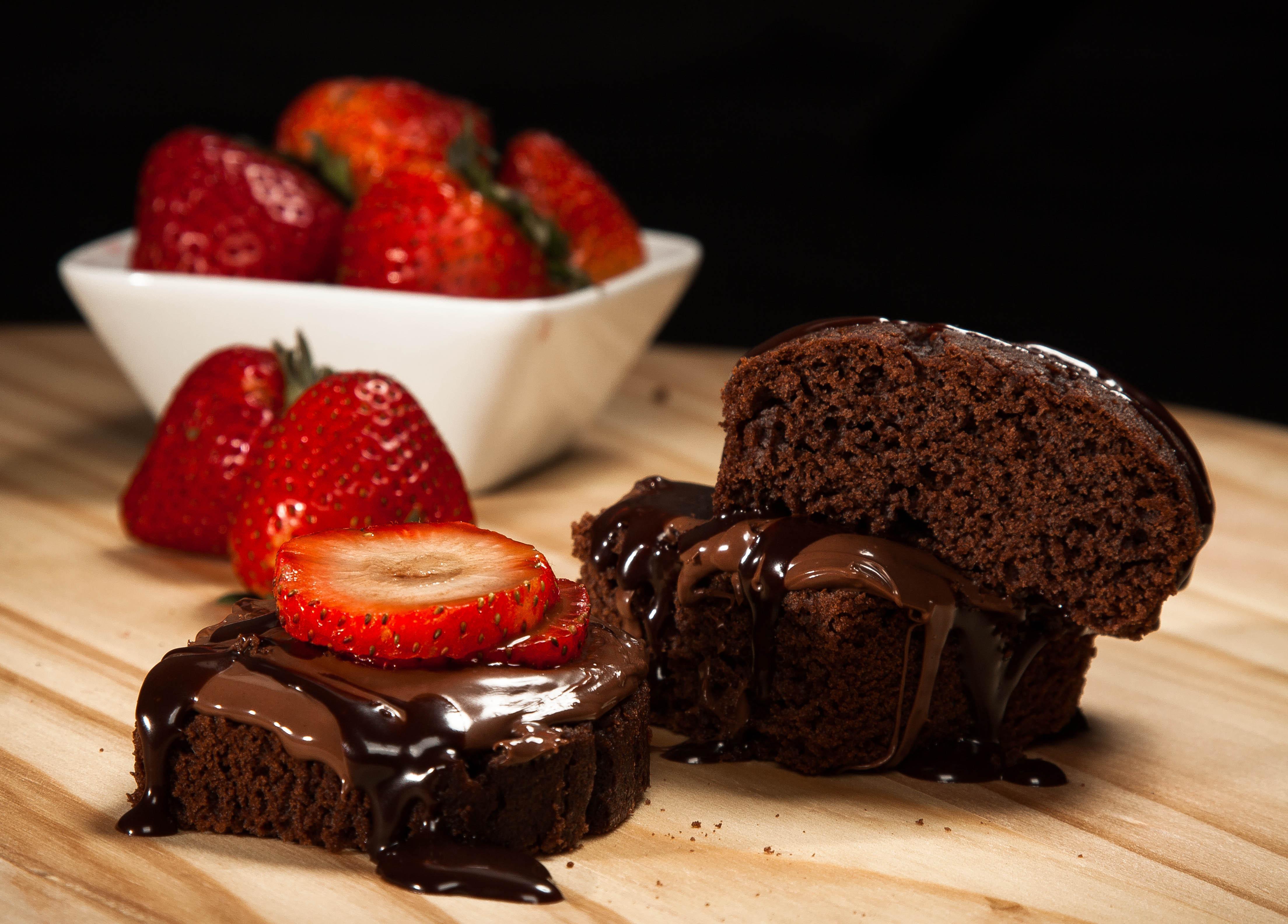 Самая аппетитная картинка с шоколадом