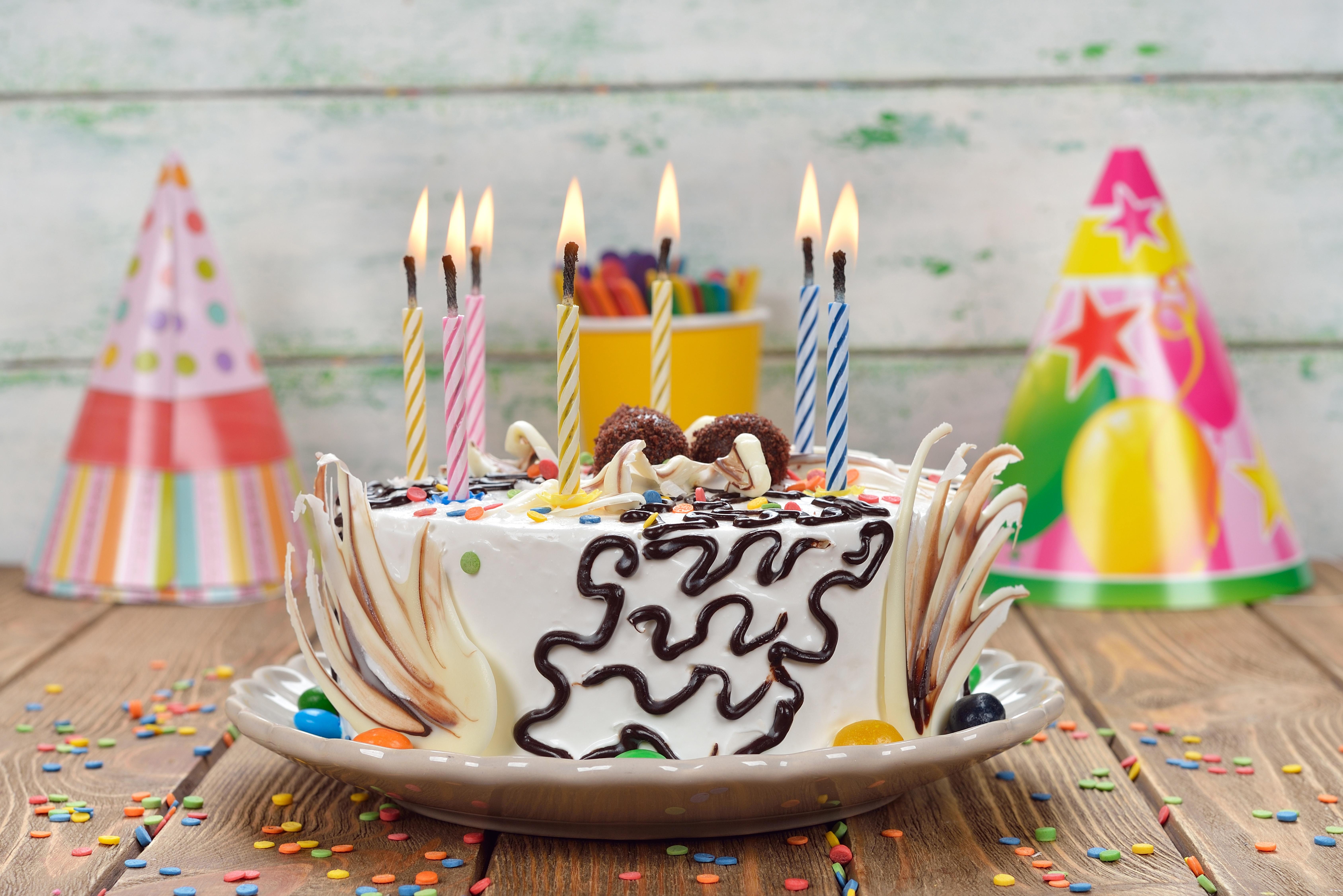 Картинки торта день рождение