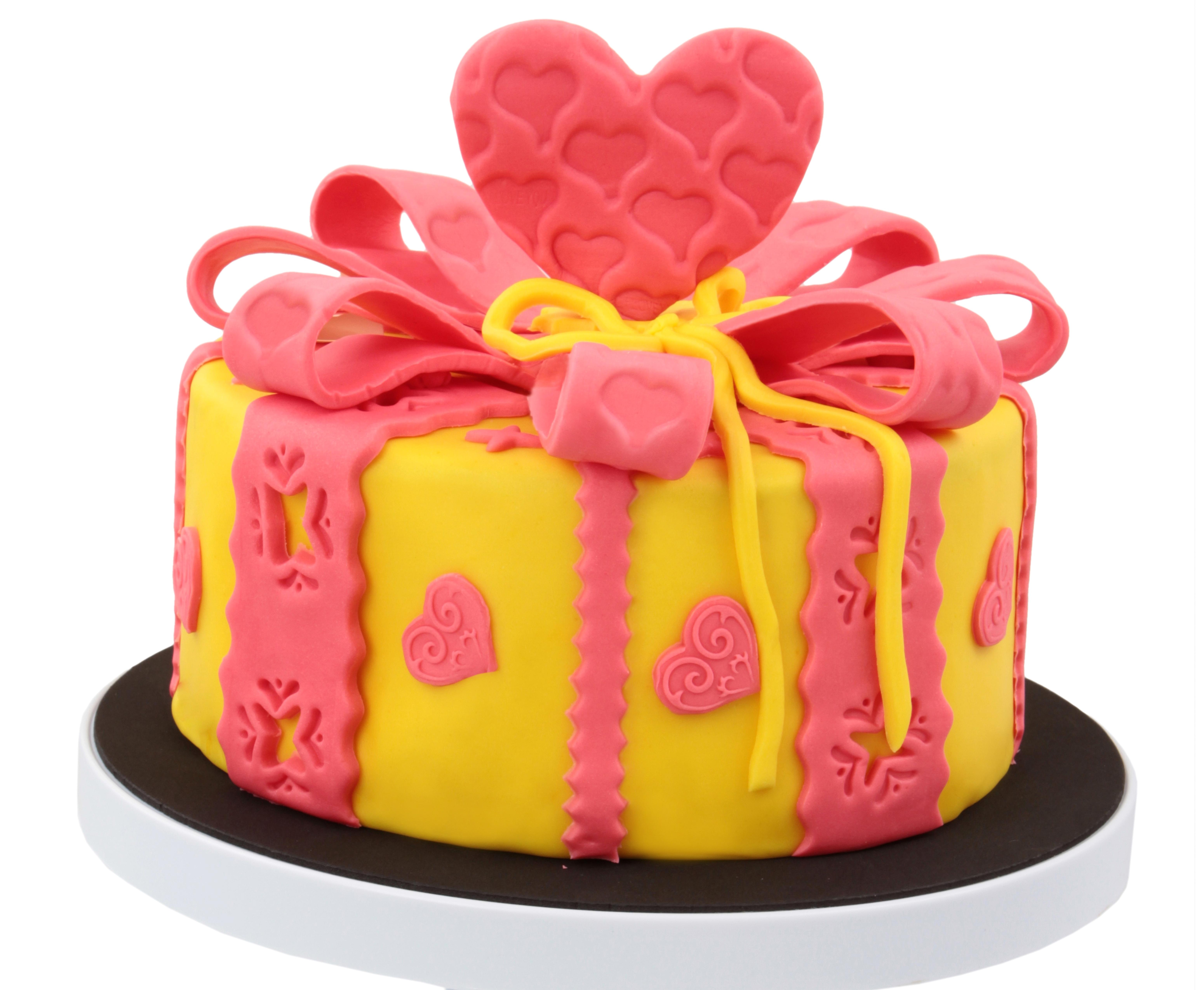 Картинка торт подарки