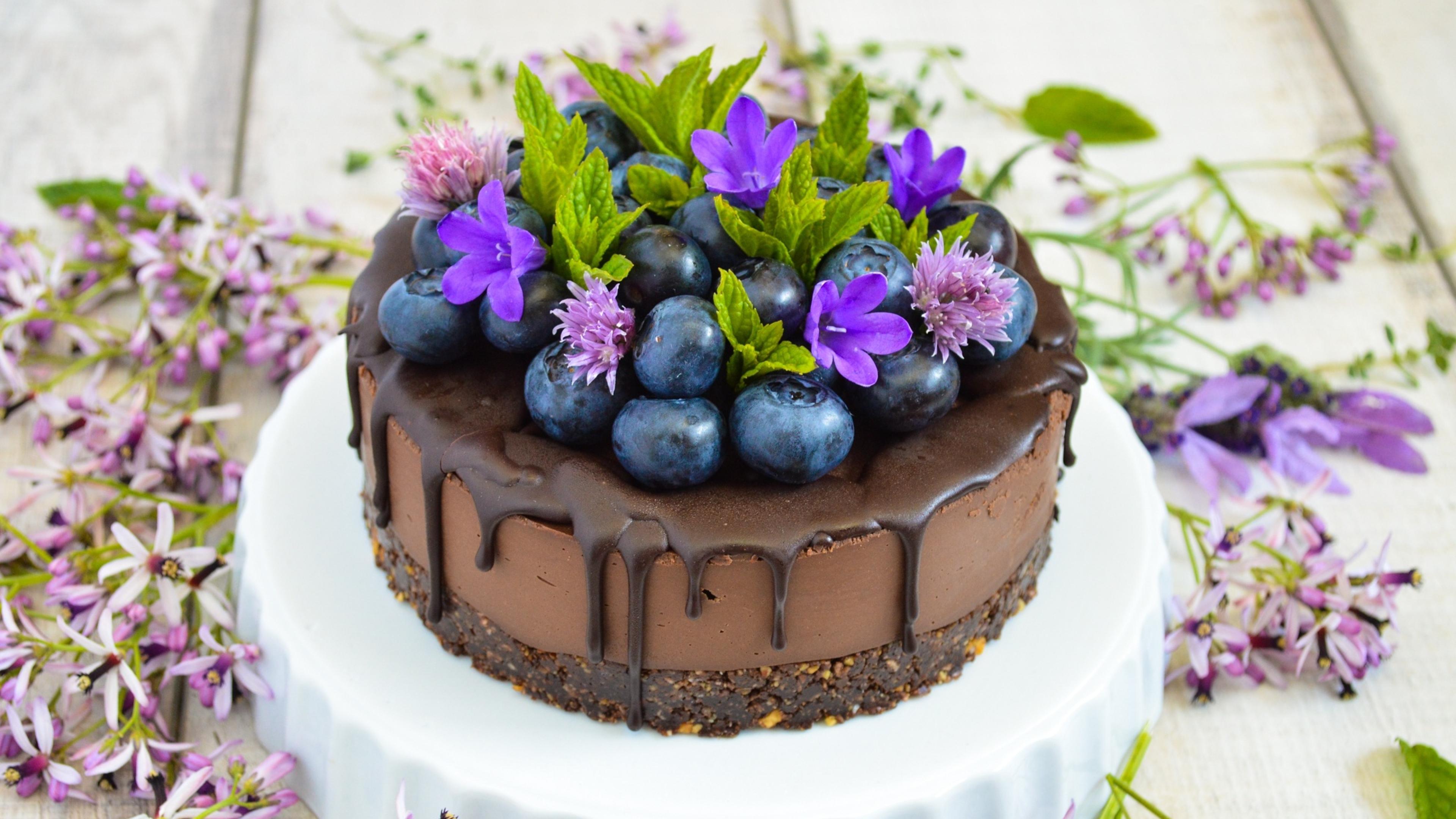Картинки торт с цветами