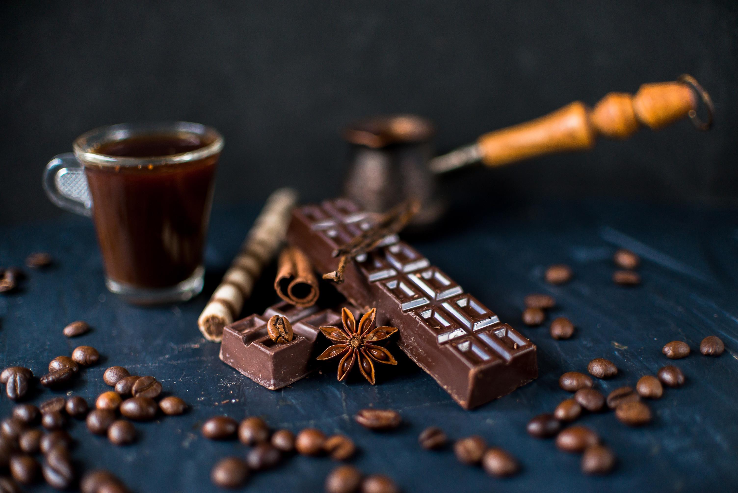 картинки кофе и шоколад фон себя участником