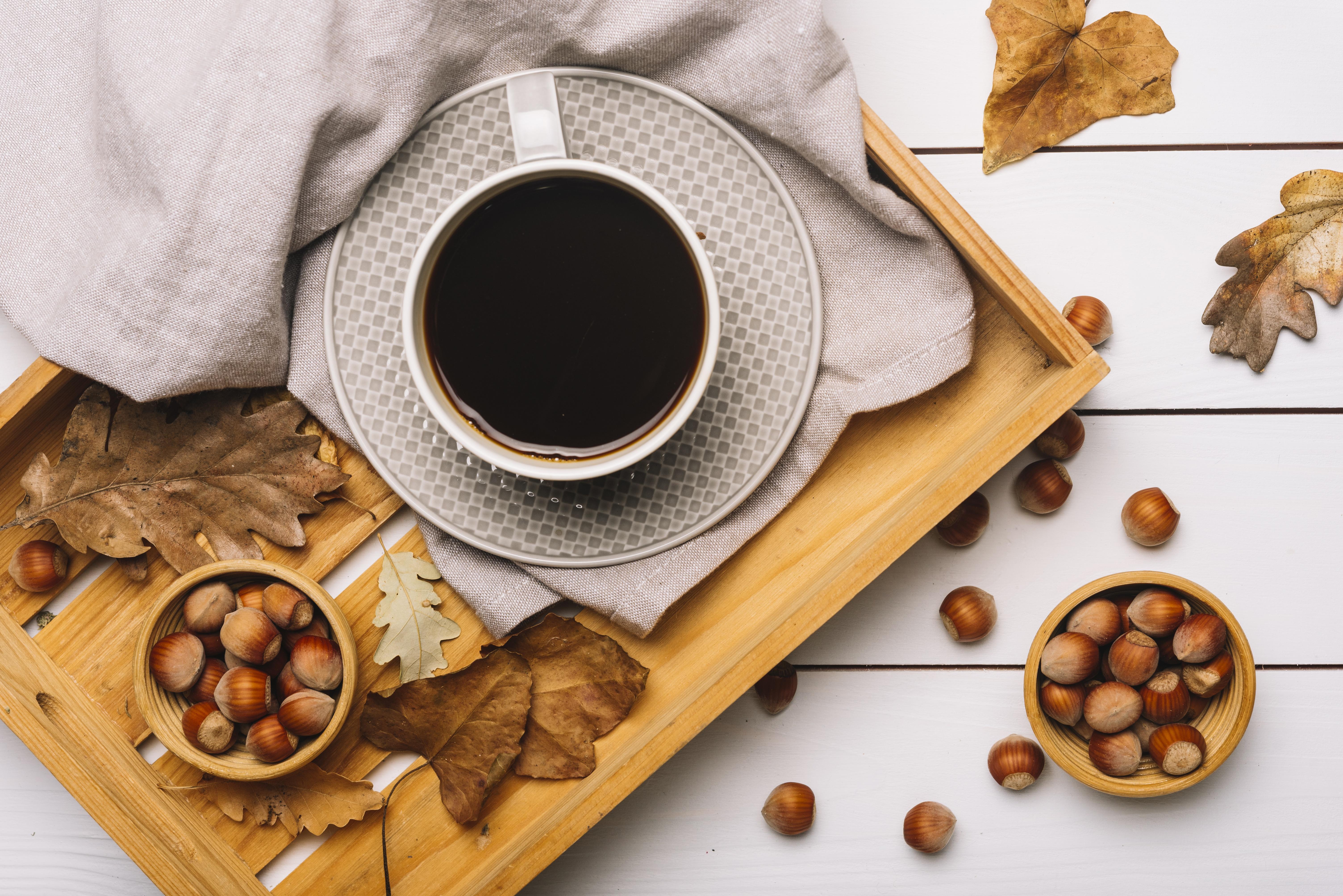 кофе с орехами картинка