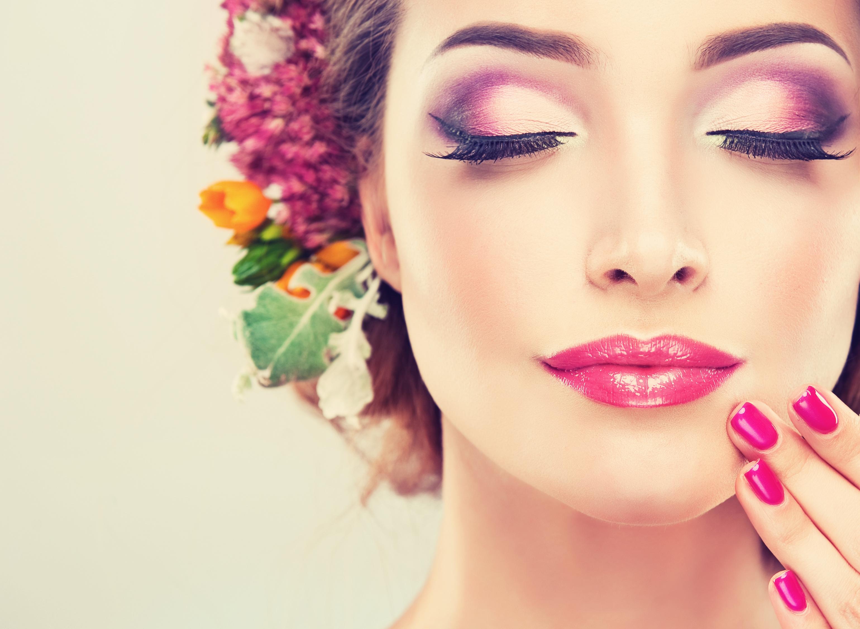 Картинки с макияжем для девушки