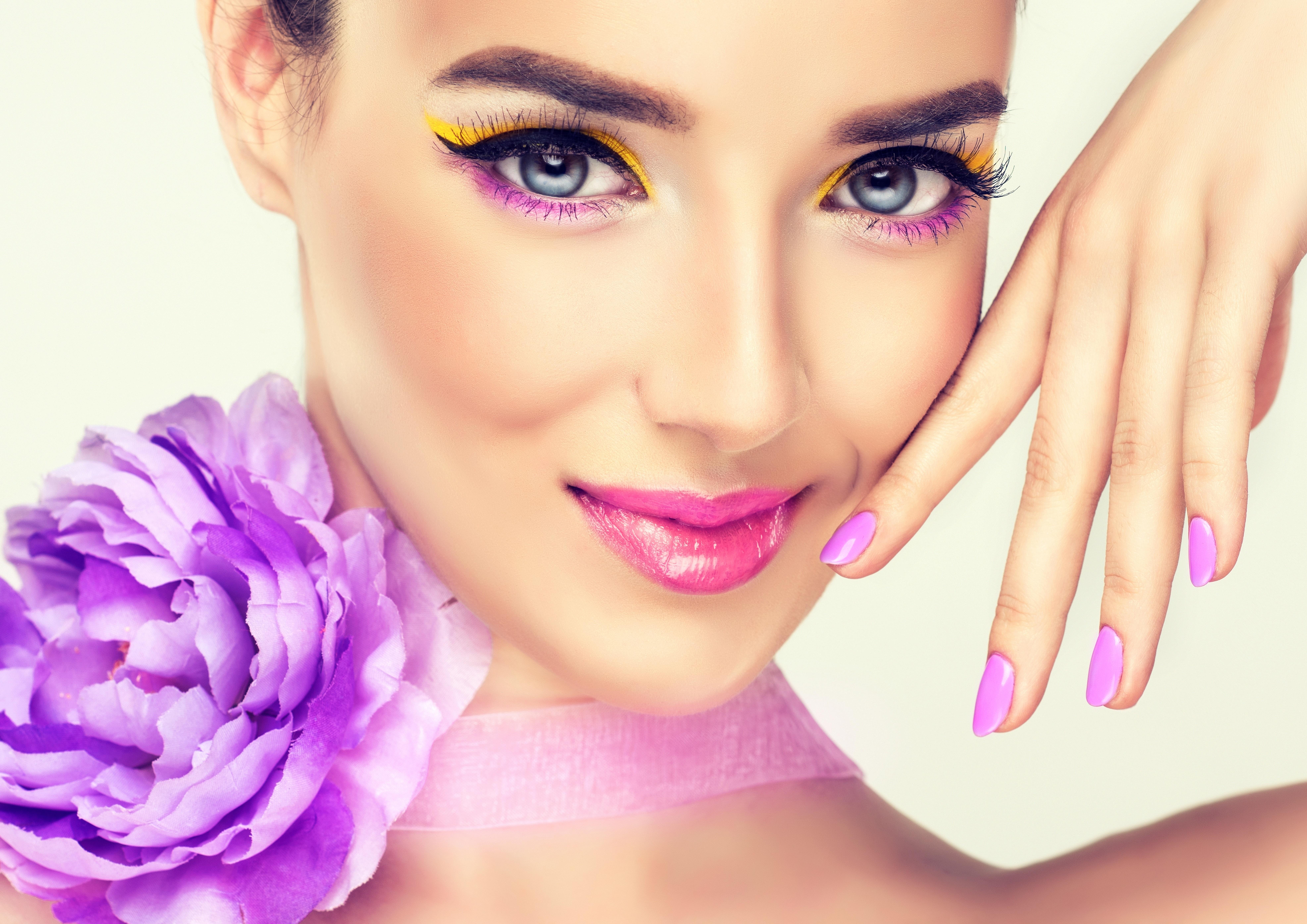 Картинки с ногтями красивыми с цветами