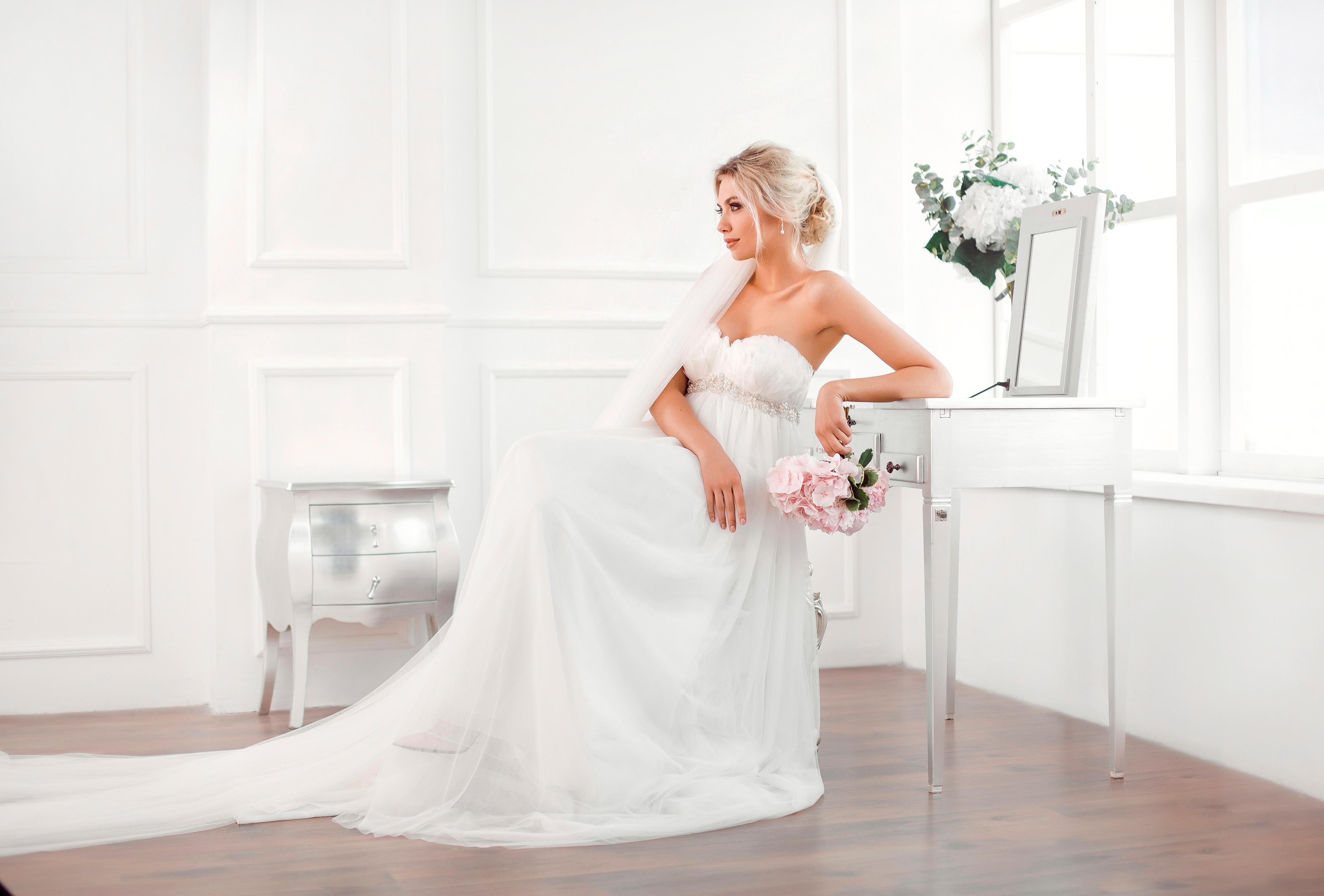 Красивые картинки на рабочий стол свадебные платья