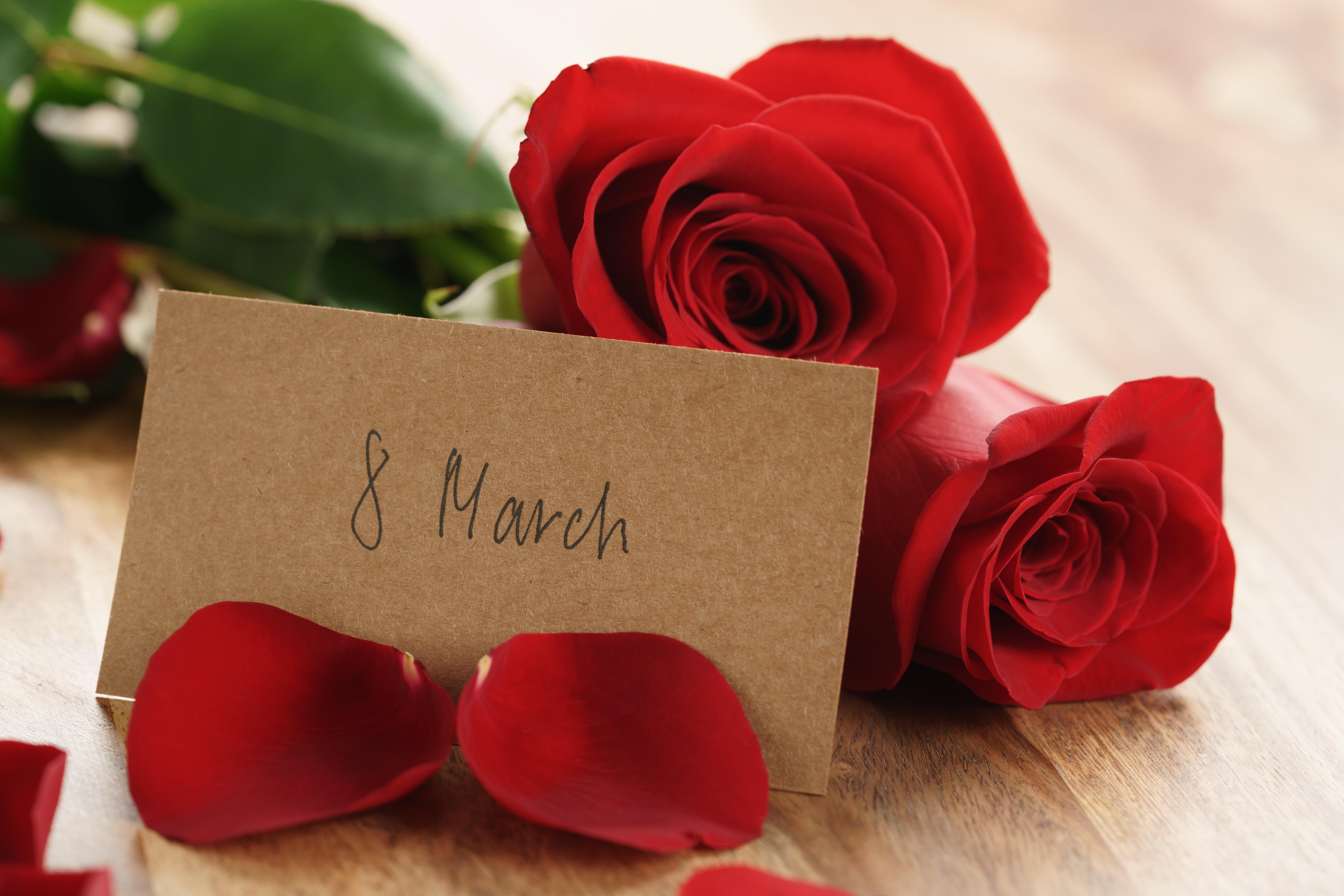 Открытки романтические с 8 марта, открытки