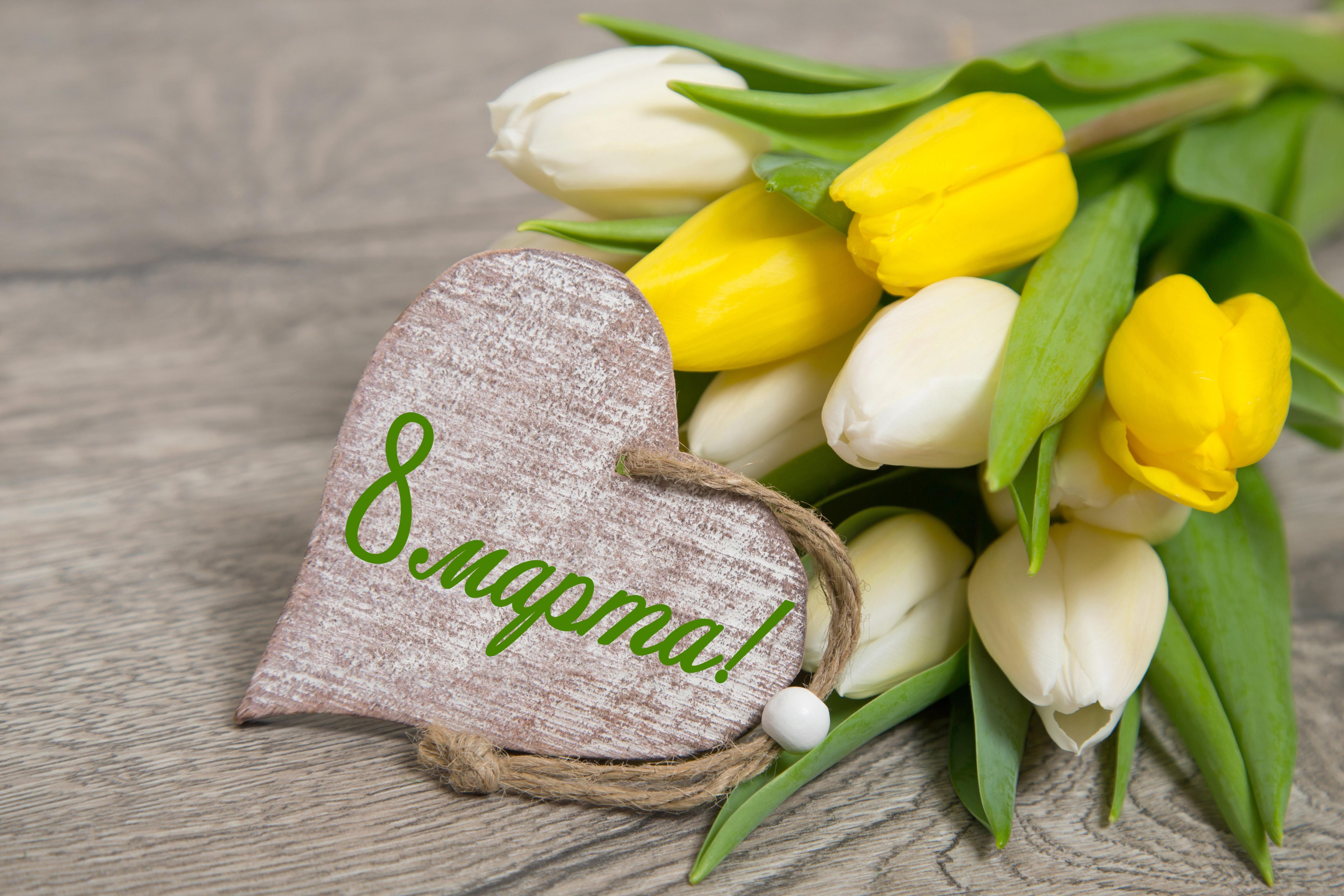 фото открытки 8 марта с тюльпанами фото никто