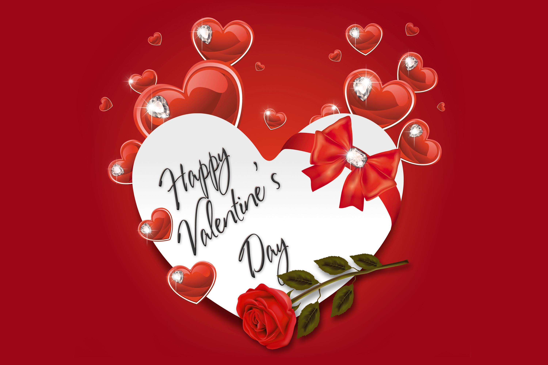 Флеш открытка с днем валентина