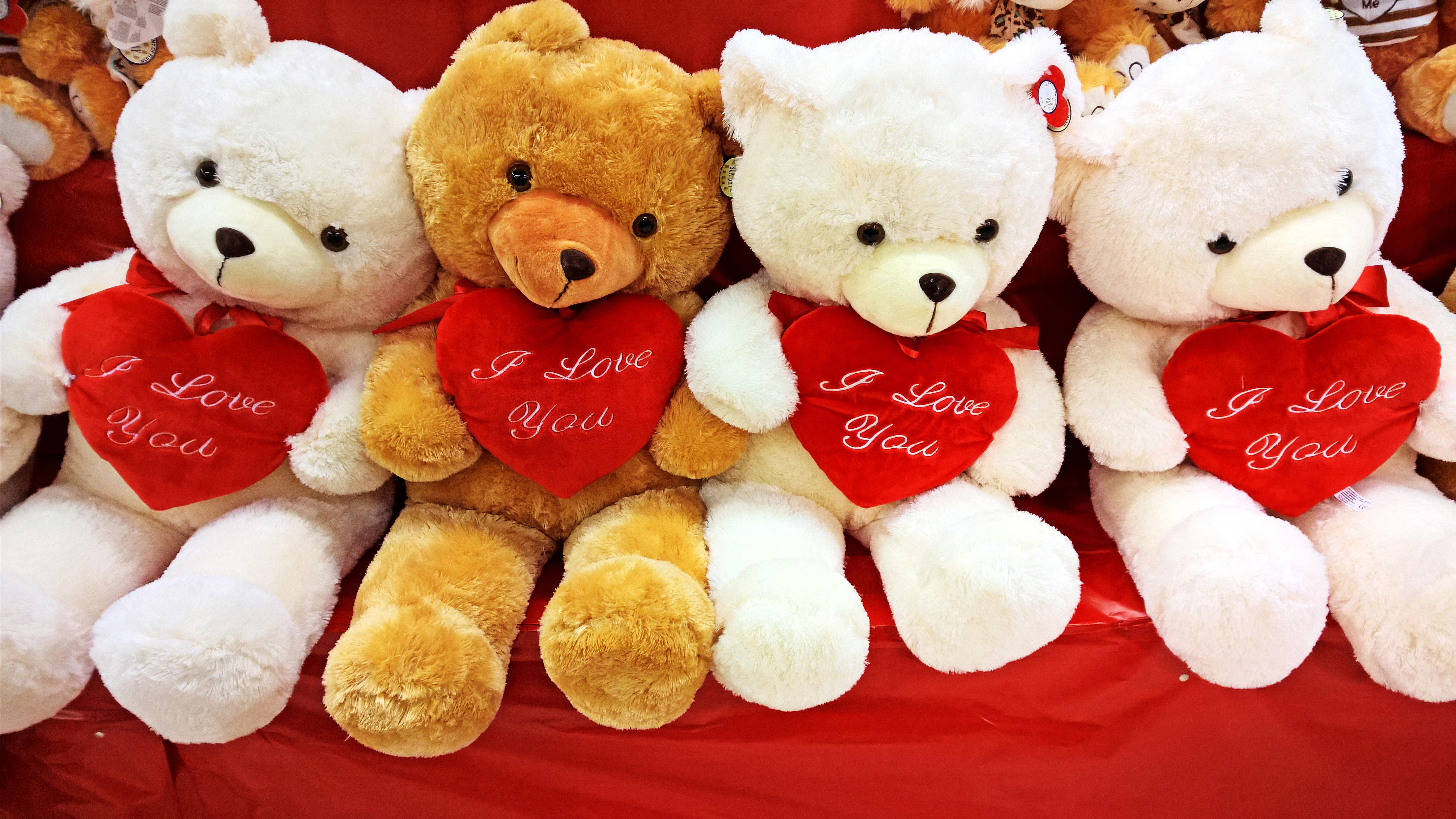 Разные фотки медведи и сердечки