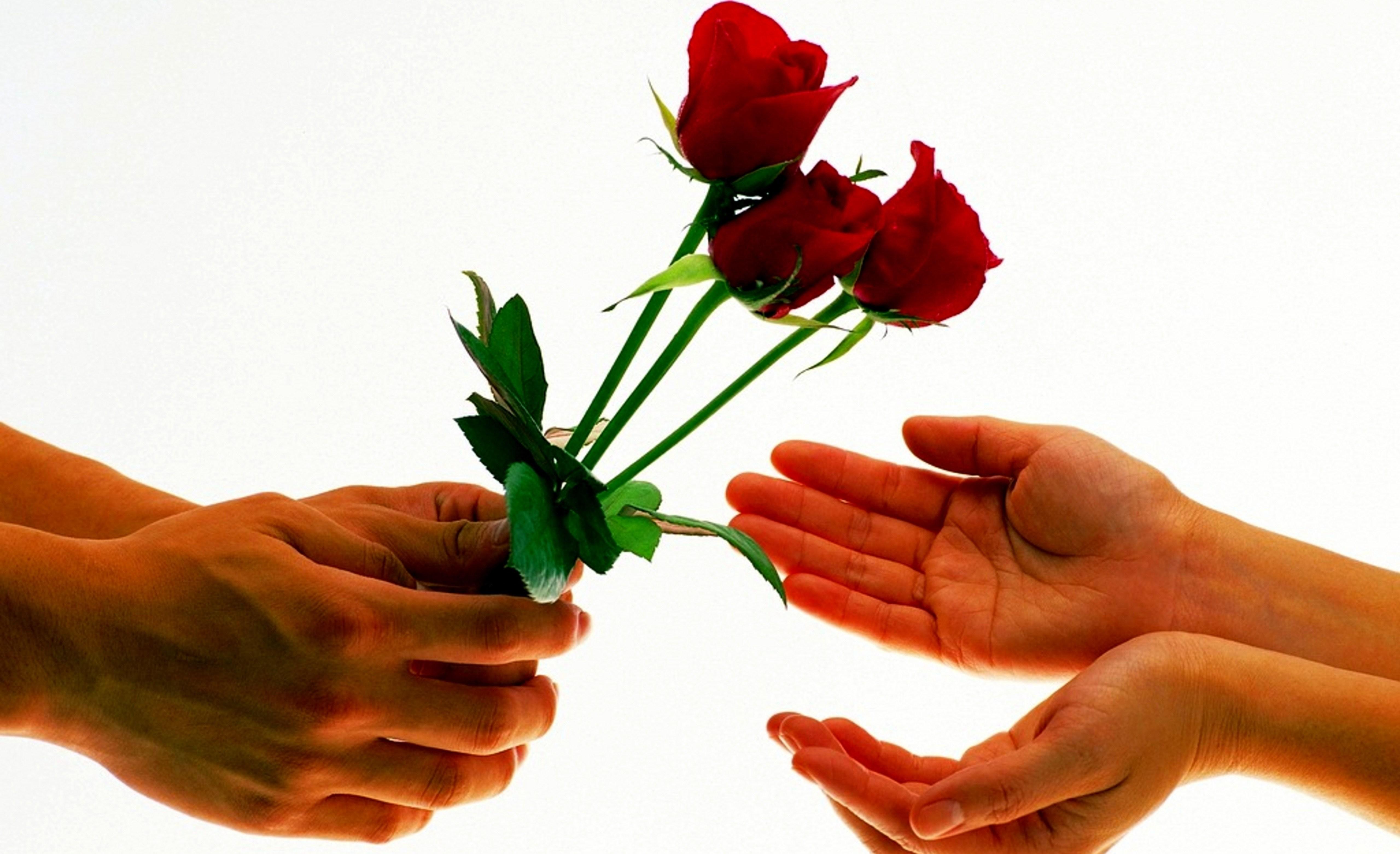 Картинки рука с букетом поздравление 8 марта