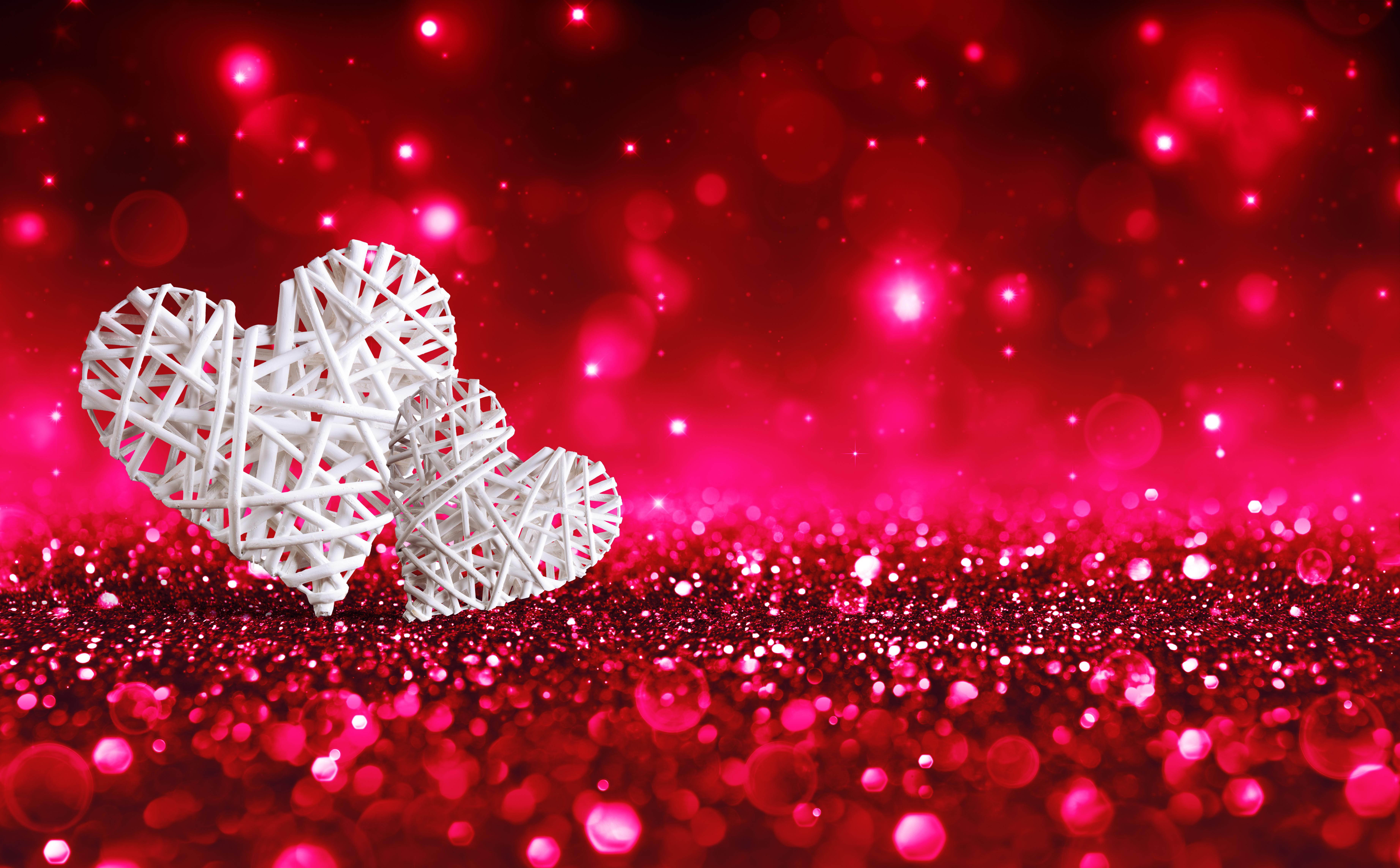 картинки с блестящими сердцами чем приступить