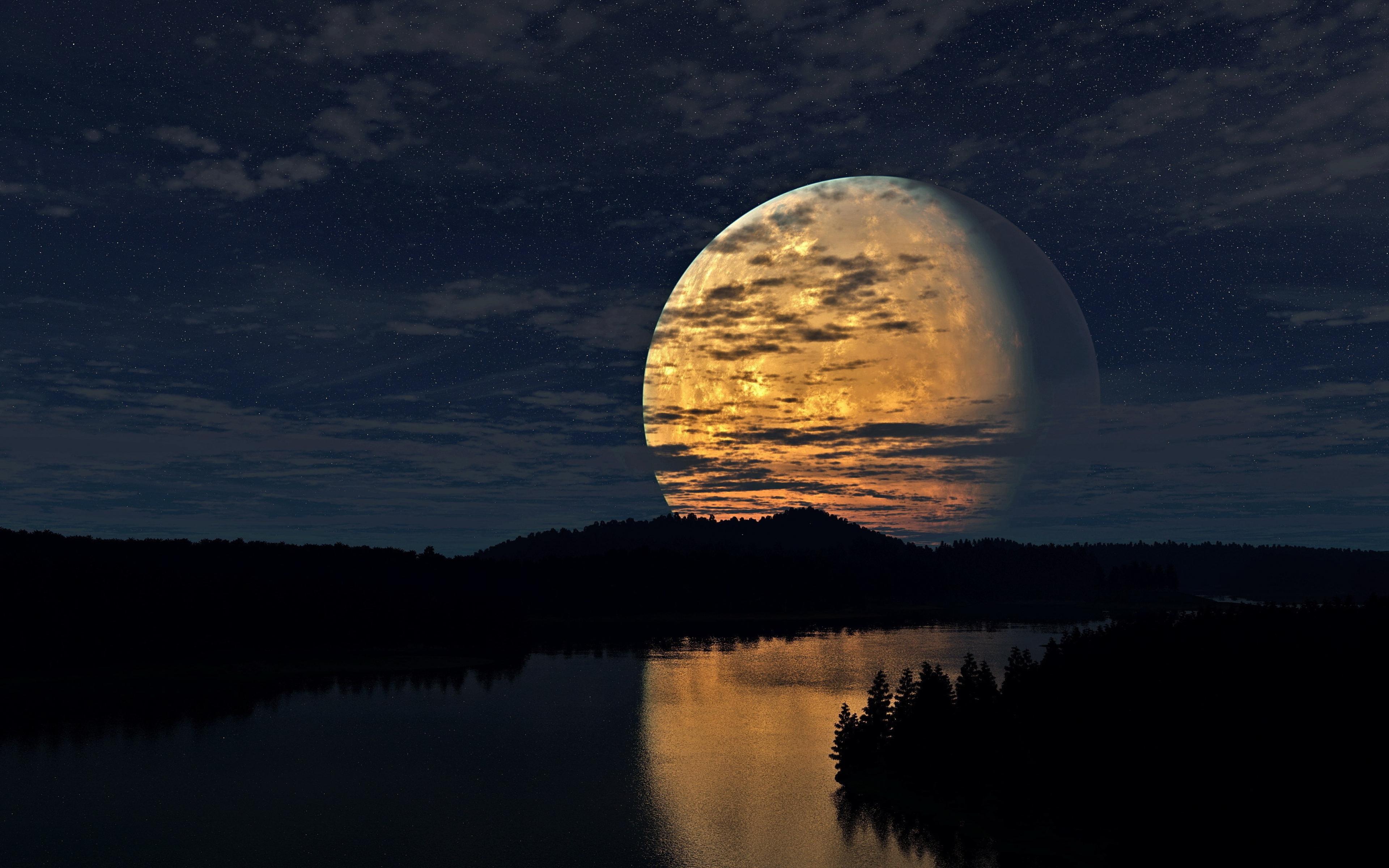 лучшие фото недели рамблер пейзаж луна изображения, переносятся