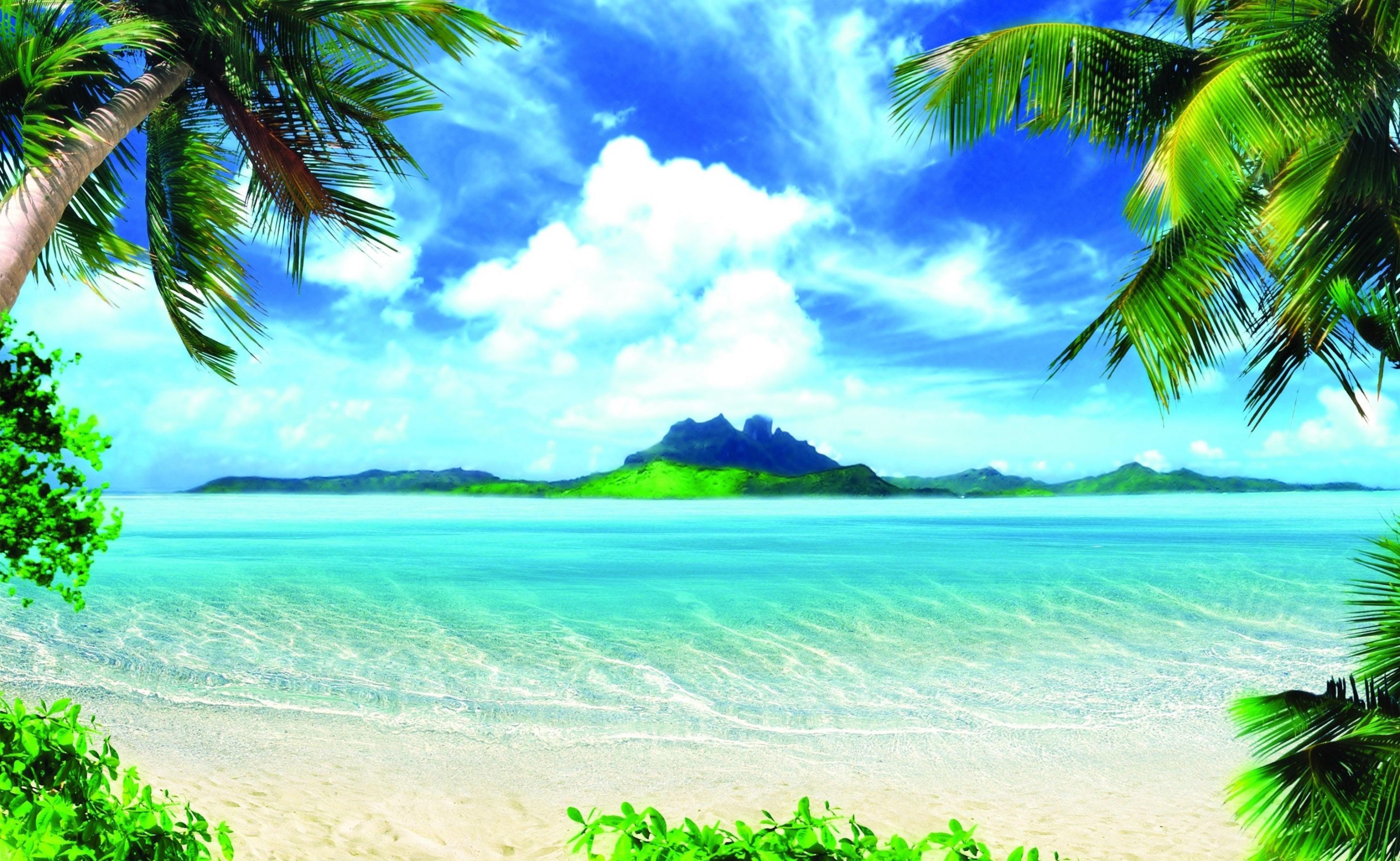 Открытка с пляжем, шарики открытка прикольные