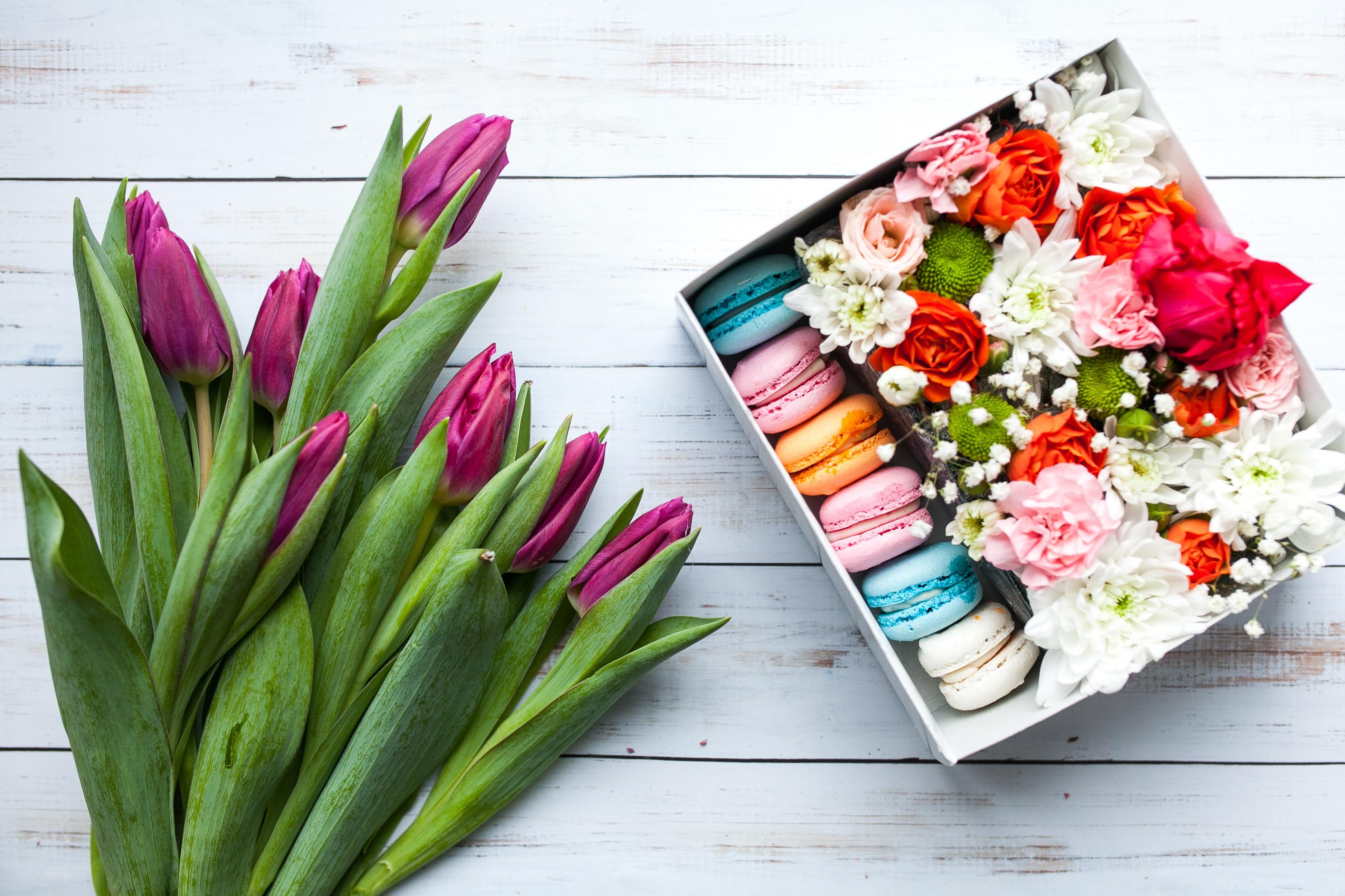 картинки на рабочий стол цветы в коробке тех
