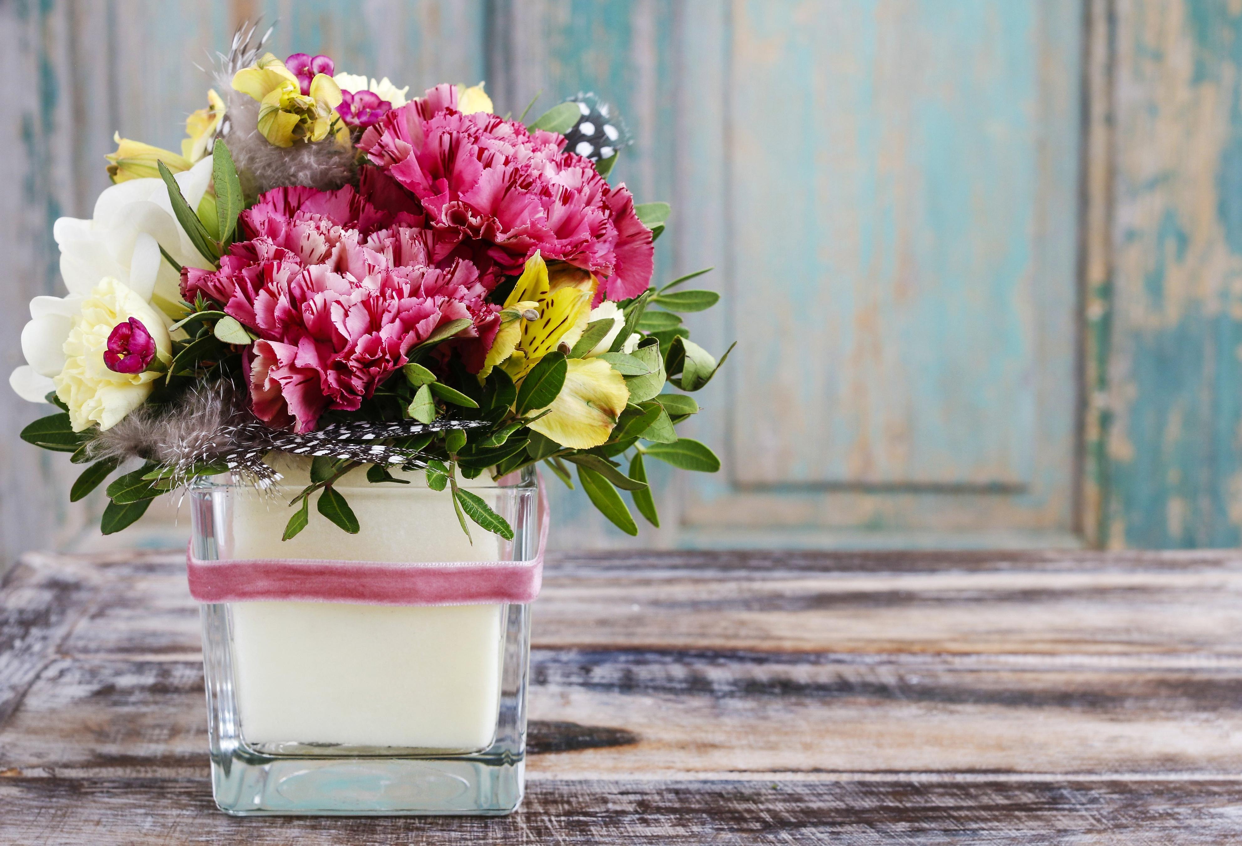 Картинки животными, картинка букет цветов в вазе
